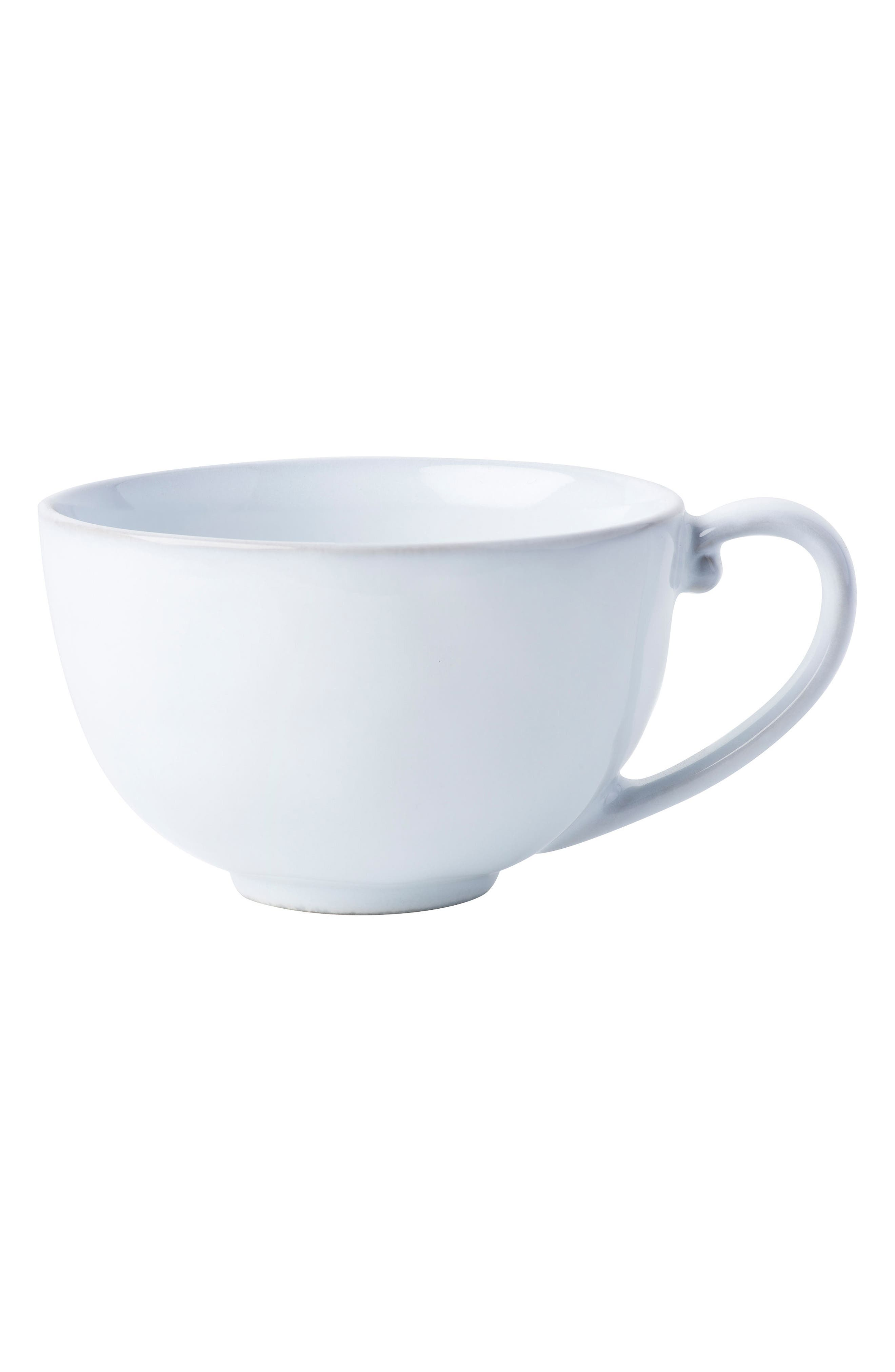 Quotidien White Truffle Ceramic Coffee Cup,                         Main,                         color, WHITE TRUFFLE