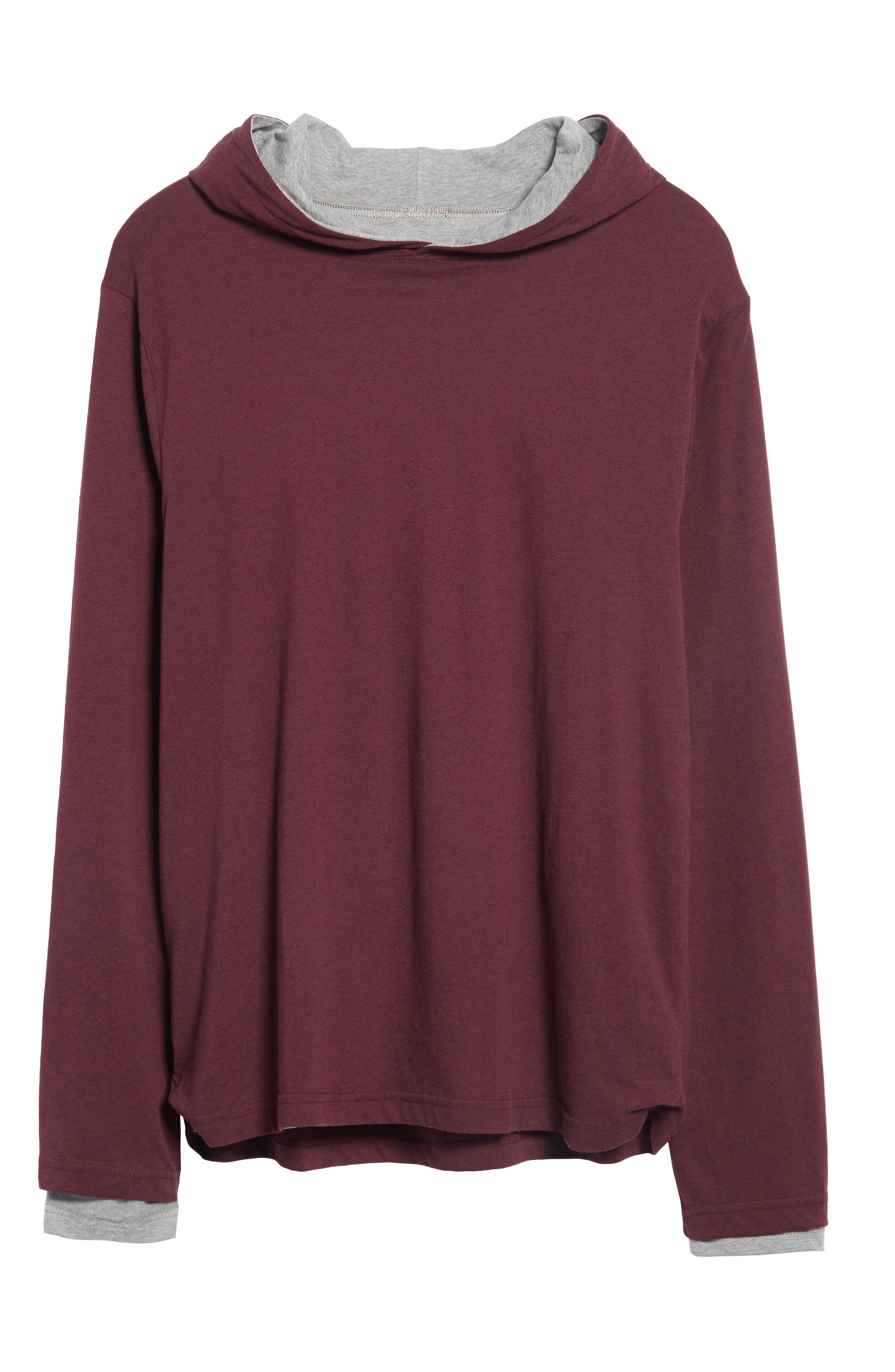 Reversible Hooded Jersey T-Shirt,                             Alternate thumbnail 22, color,