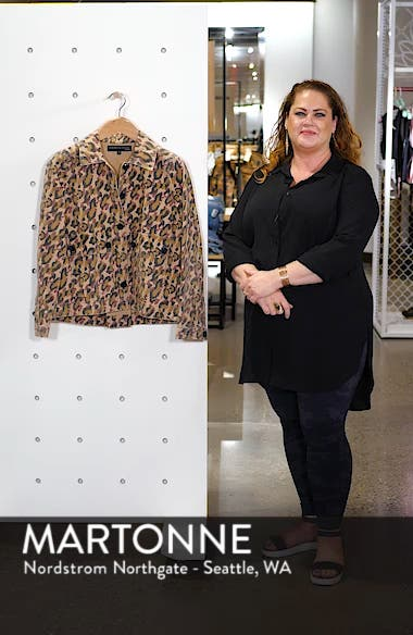 Mercer Leopard Print Jacket, sales video thumbnail