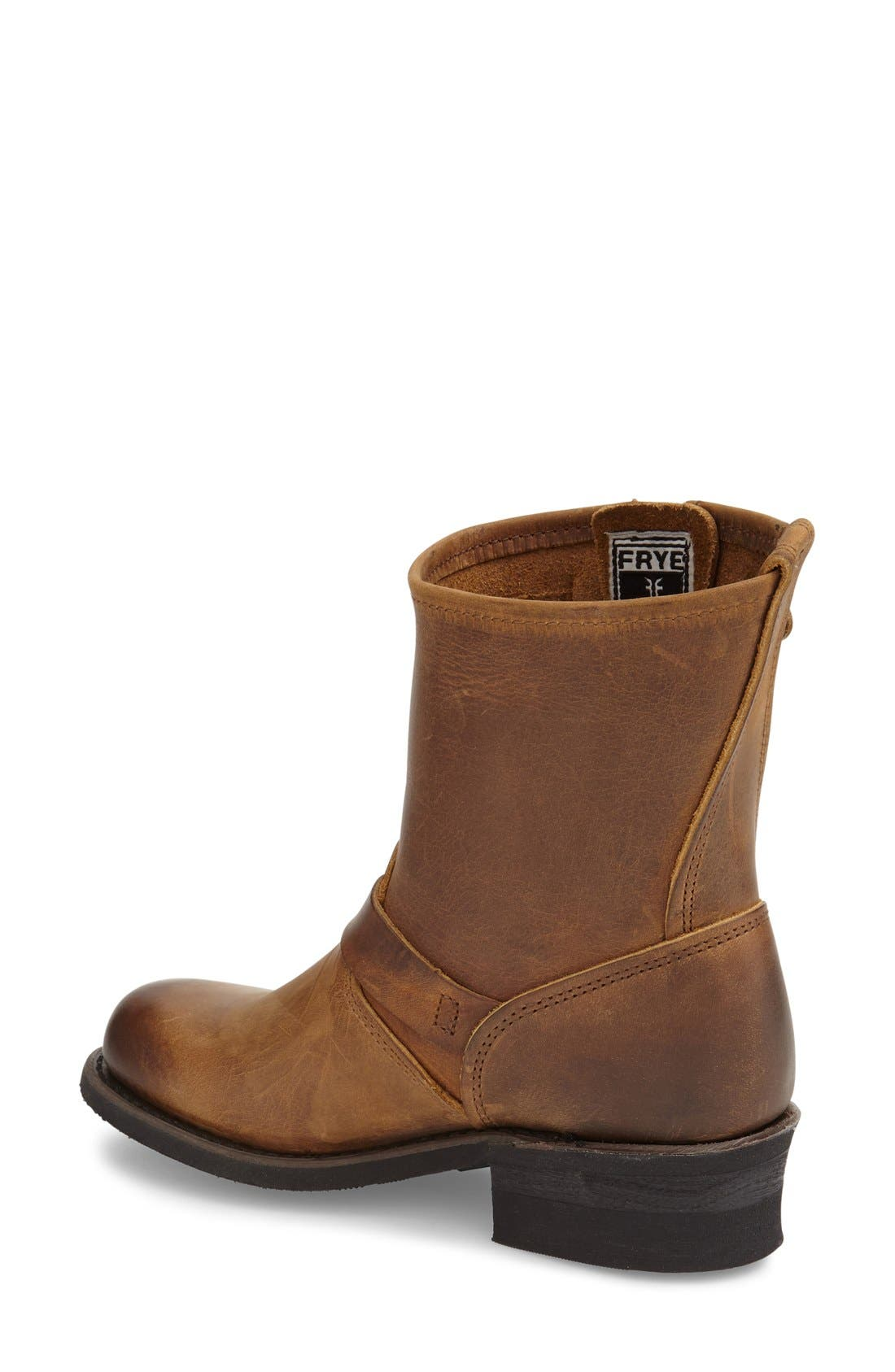 'Engineer 8R' Leather Boot,                             Alternate thumbnail 10, color,