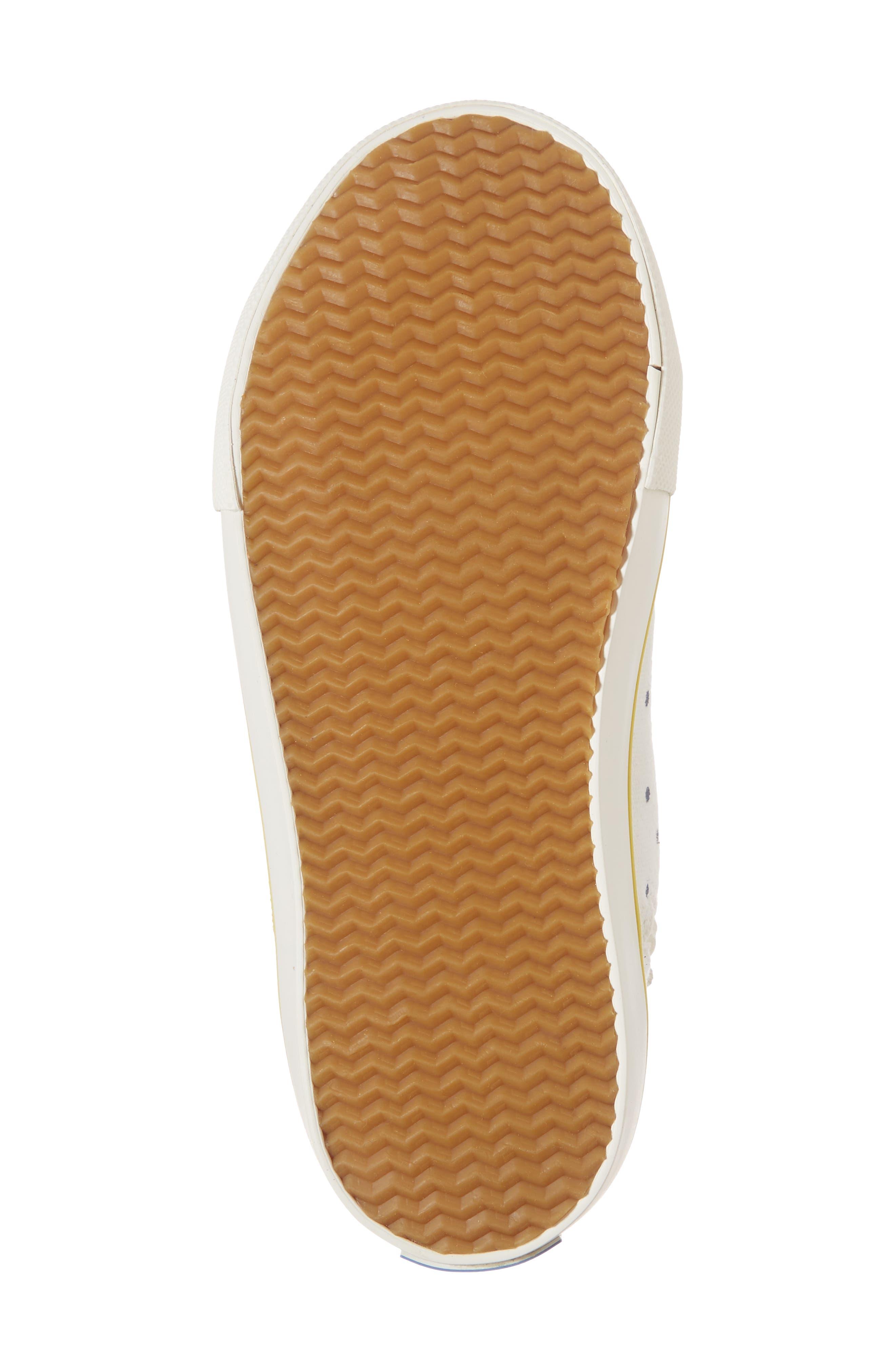 Appliqué High Top Sneaker,                             Alternate thumbnail 6, color,                             254