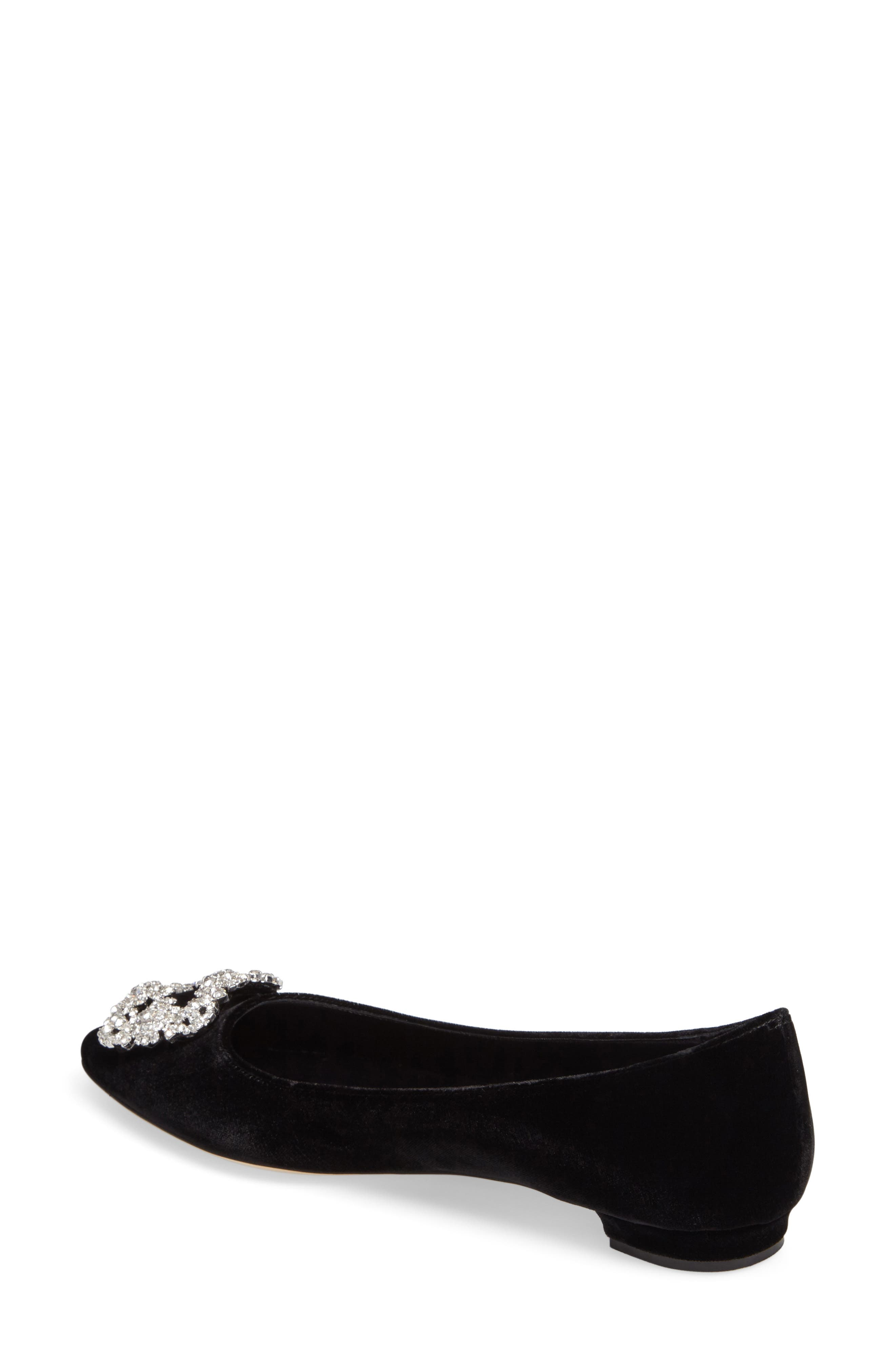 Hangisi Pointy Toe Flat,                             Alternate thumbnail 2, color,                             001