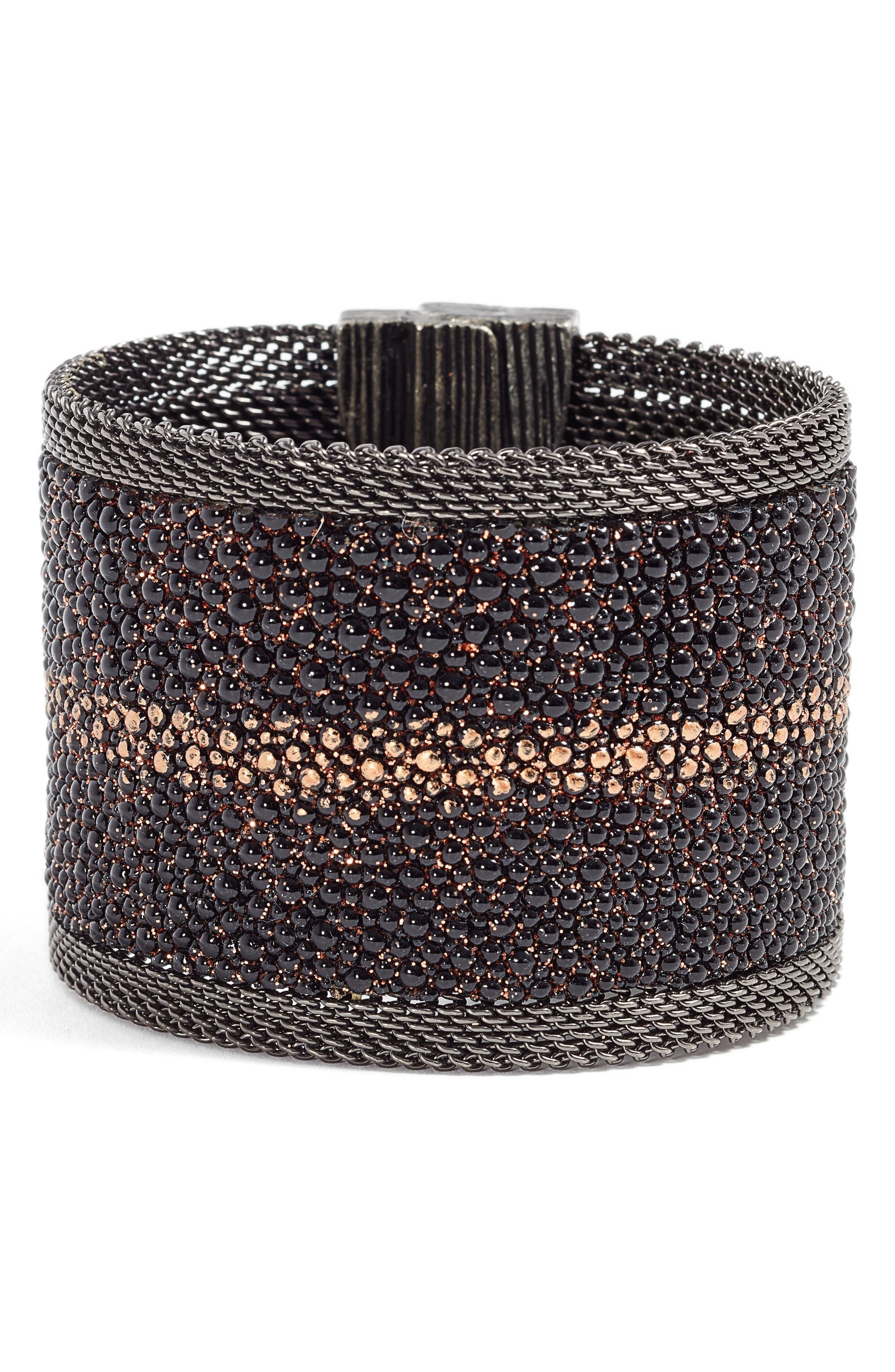 Shimmer Stingray Bracelet,                             Main thumbnail 1, color,                             001