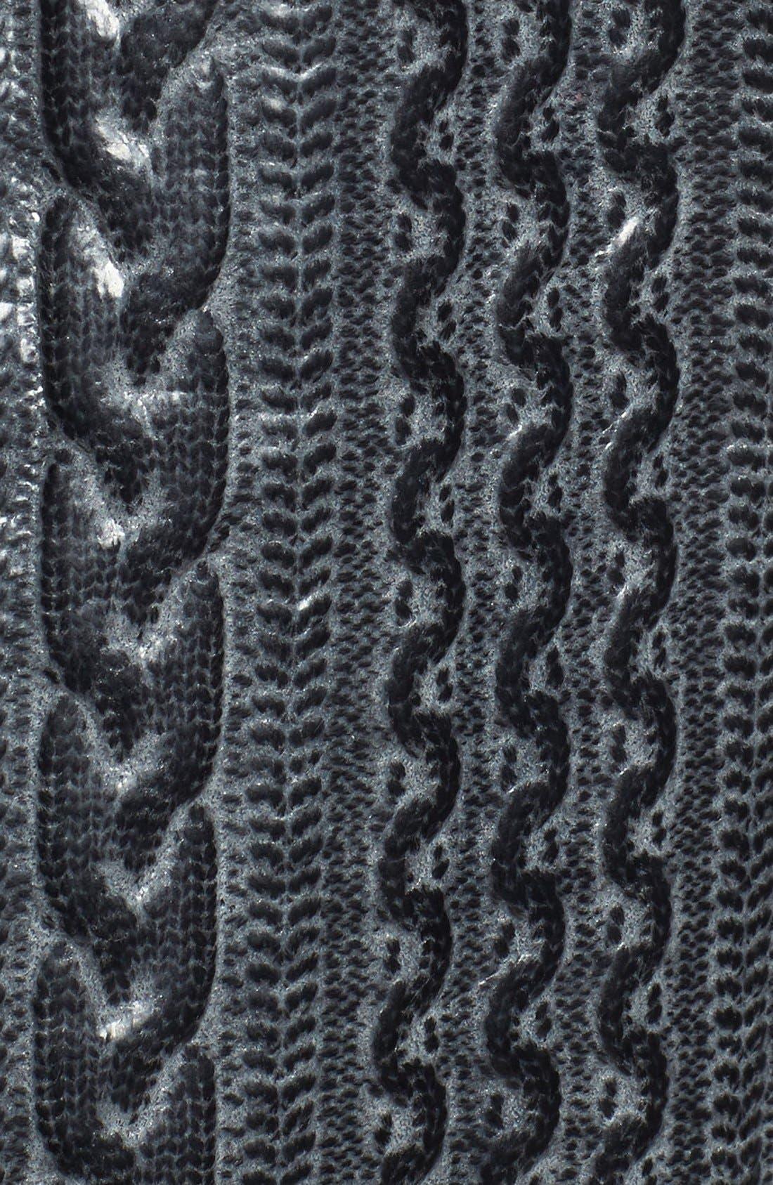 ROBERT GRAHAM,                             Romulus Goatskin Leather Jacket,                             Alternate thumbnail 5, color,                             001