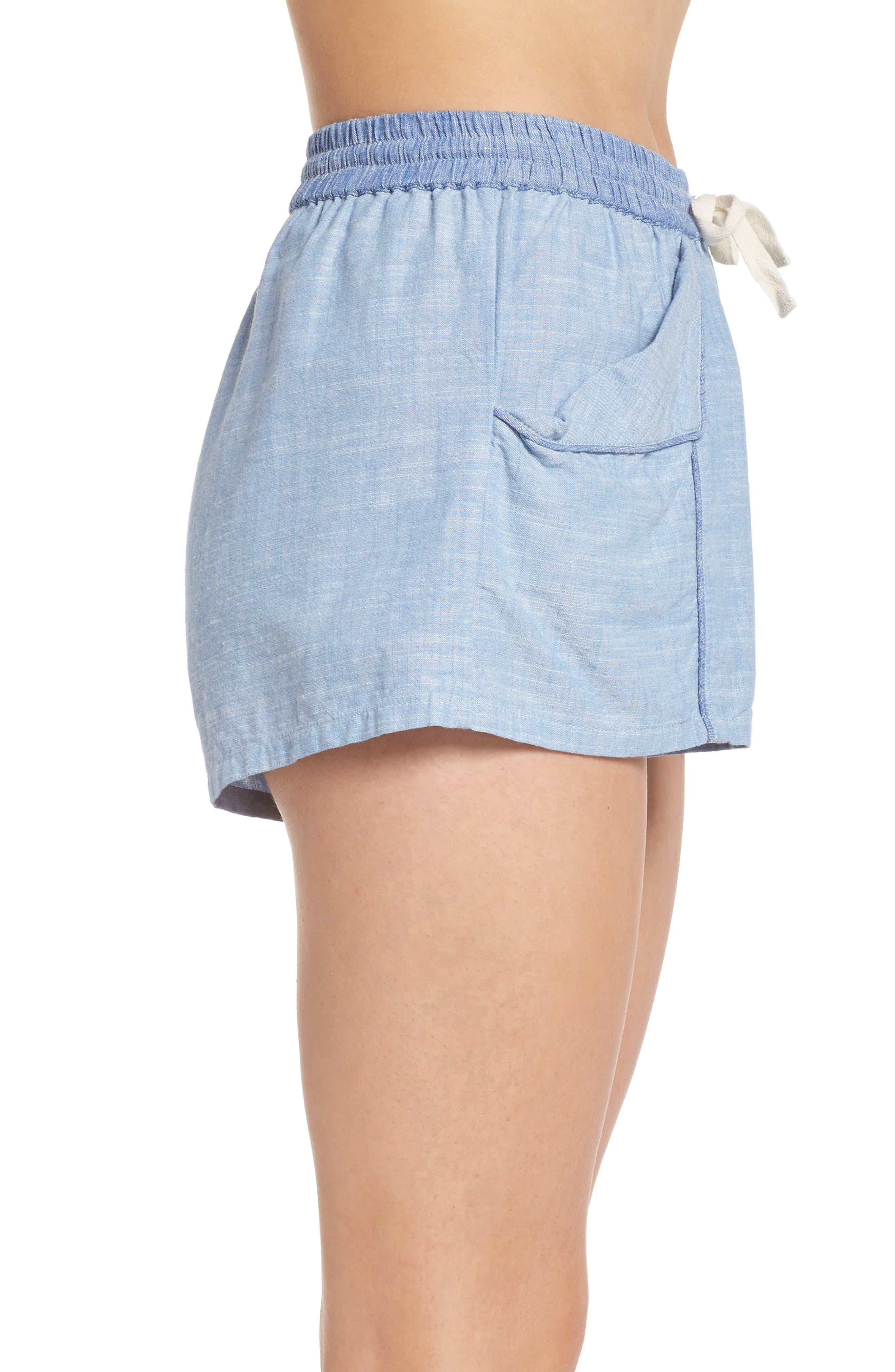 Jude Pajama Shorts,                             Alternate thumbnail 3, color,                             458