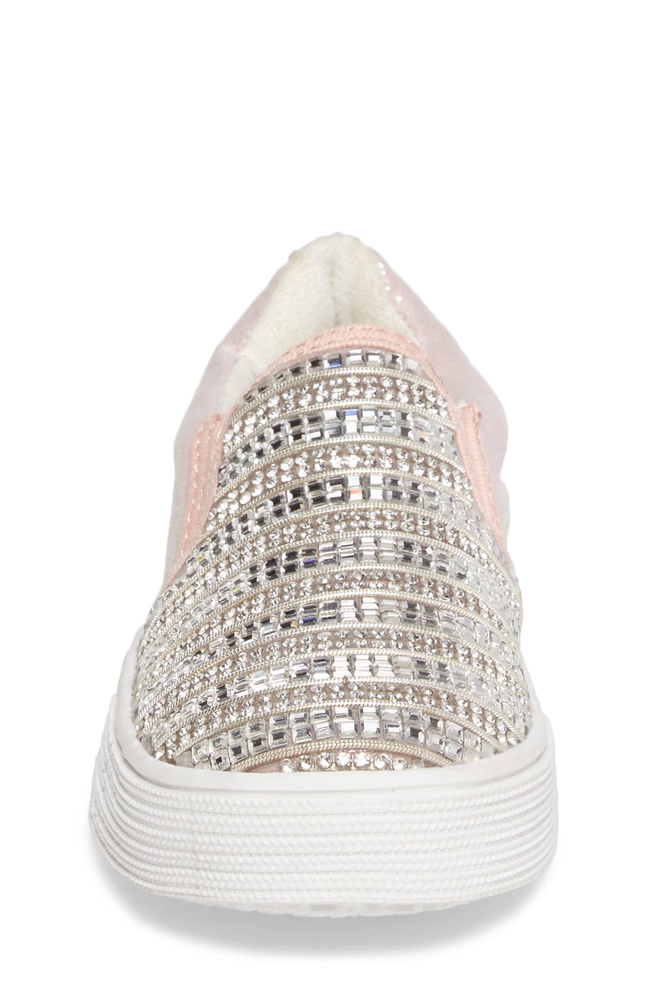 Vance Glitz Slip-On Sneaker,                             Alternate thumbnail 12, color,