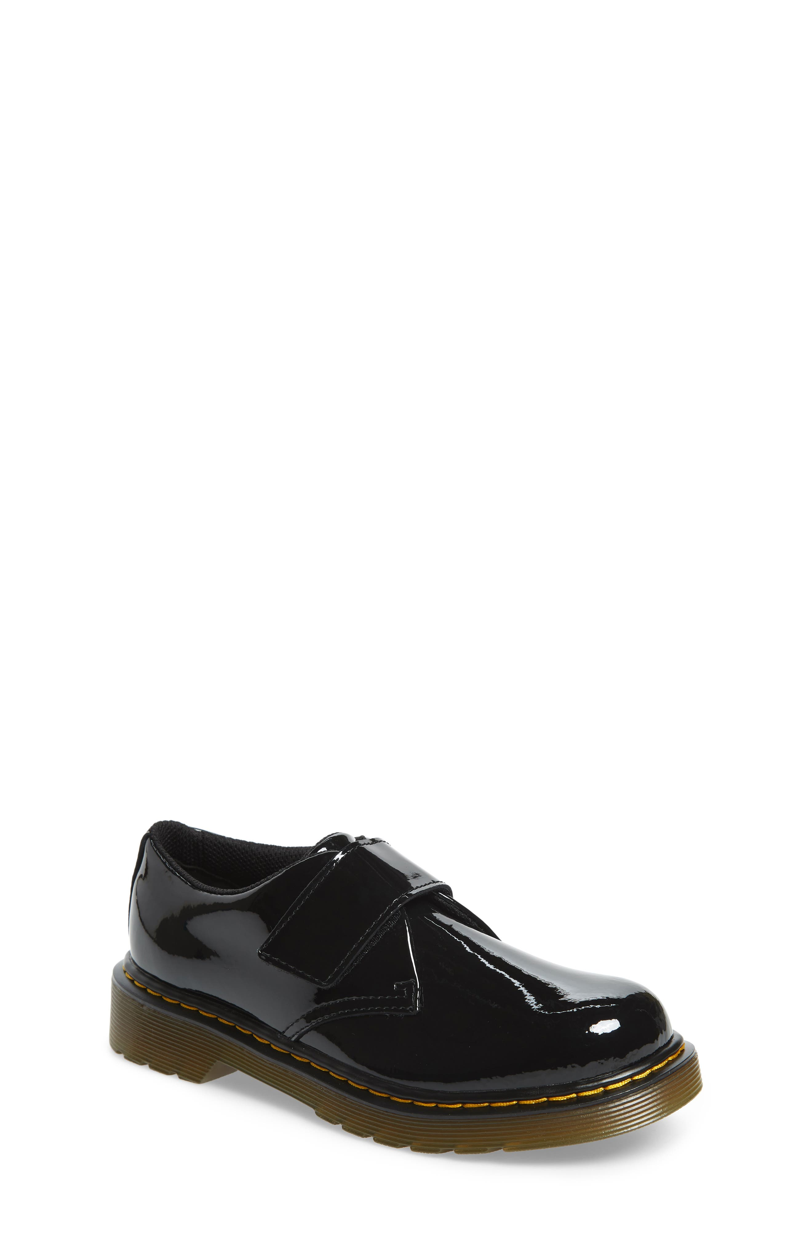 Loafer,                             Main thumbnail 1, color,                             BLACK PATENT