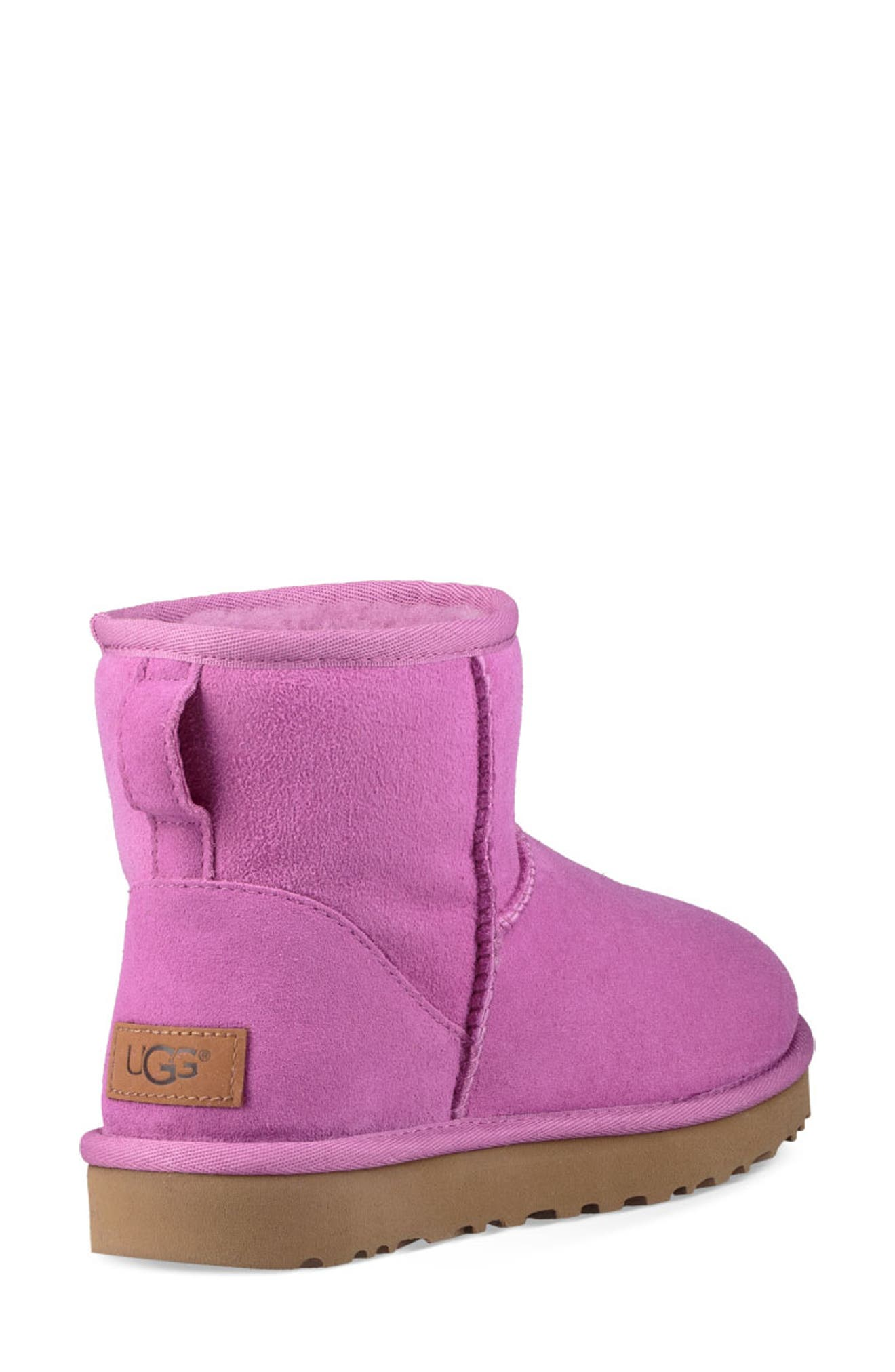 'Classic Mini II' Genuine Shearling Lined Boot,                             Alternate thumbnail 2, color,                             BODACIOUS SUEDE