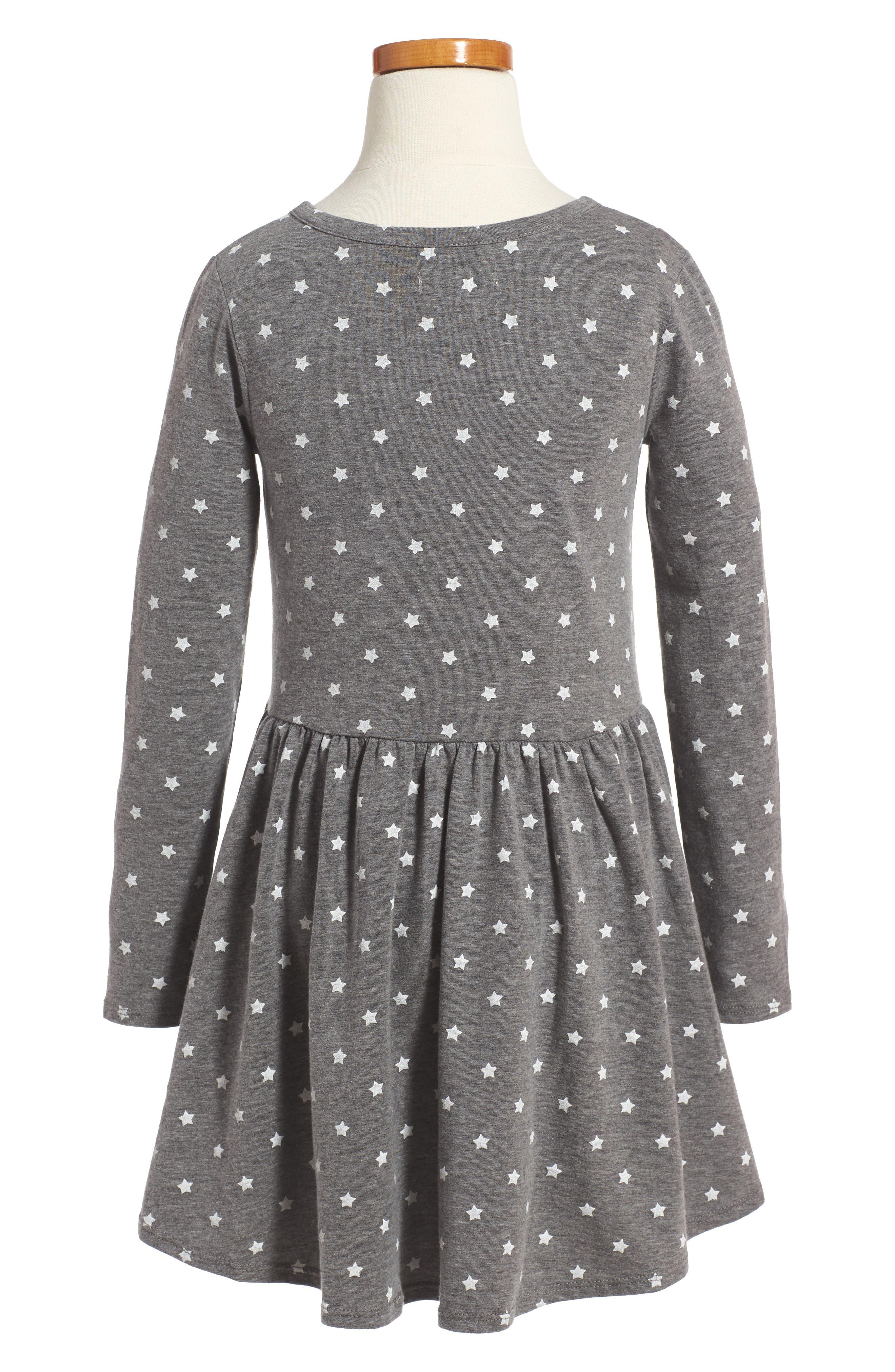 Print Knit Dress,                             Alternate thumbnail 2, color,                             021