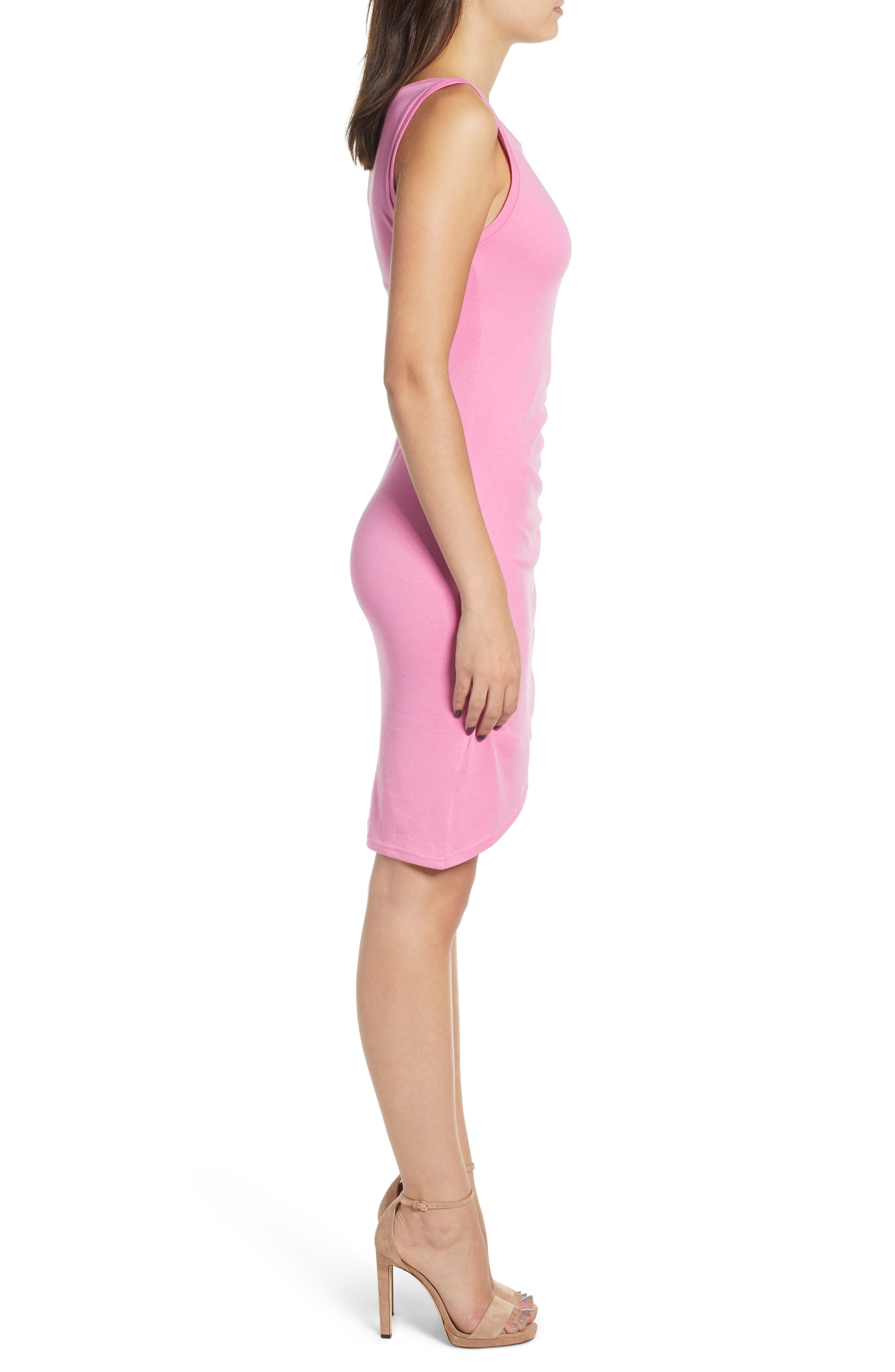 Ruched Body-Con Tank Dress,                             Alternate thumbnail 88, color,