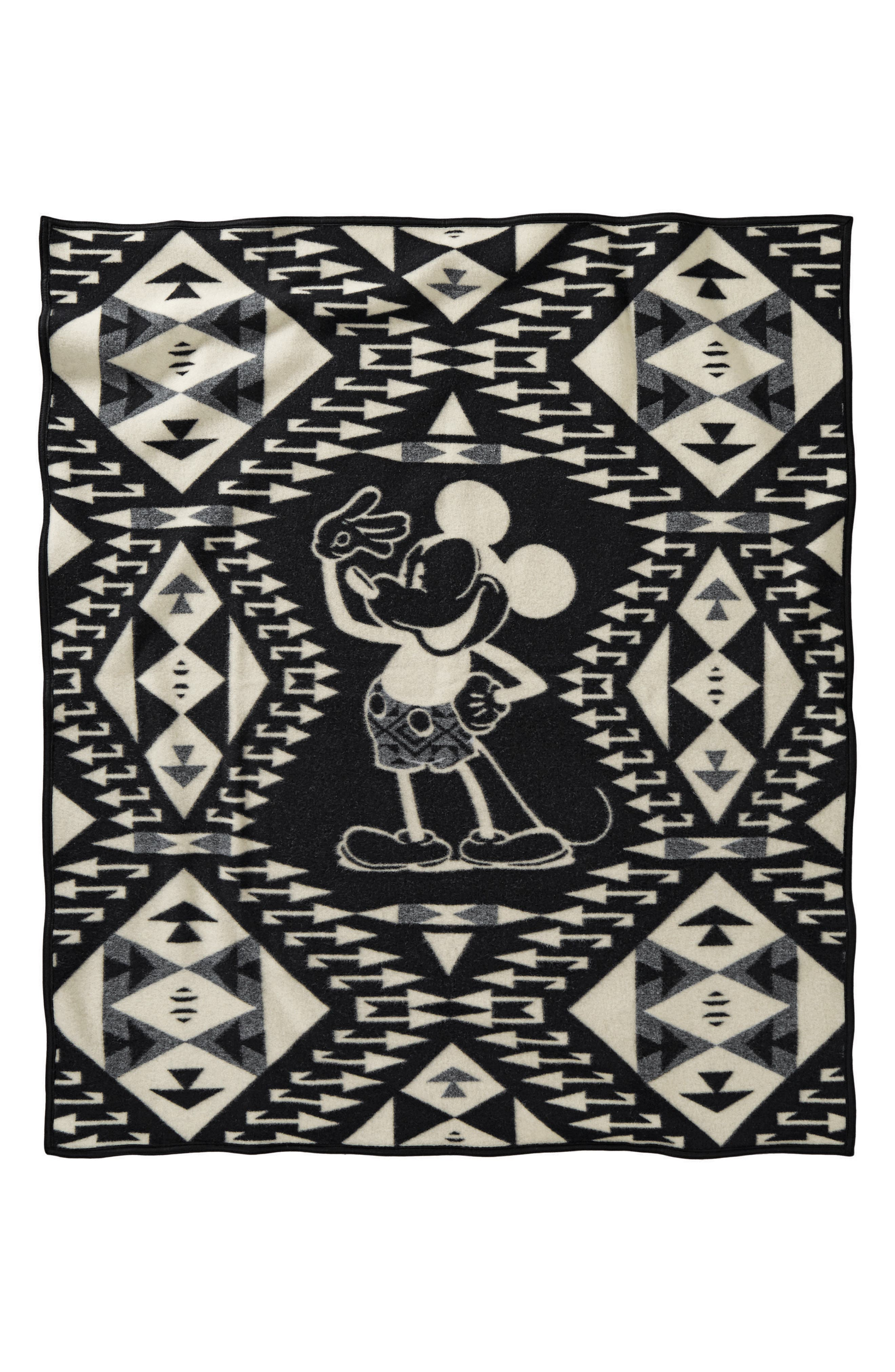 Mickey's Salute Blanket Throw,                             Alternate thumbnail 2, color,                             002