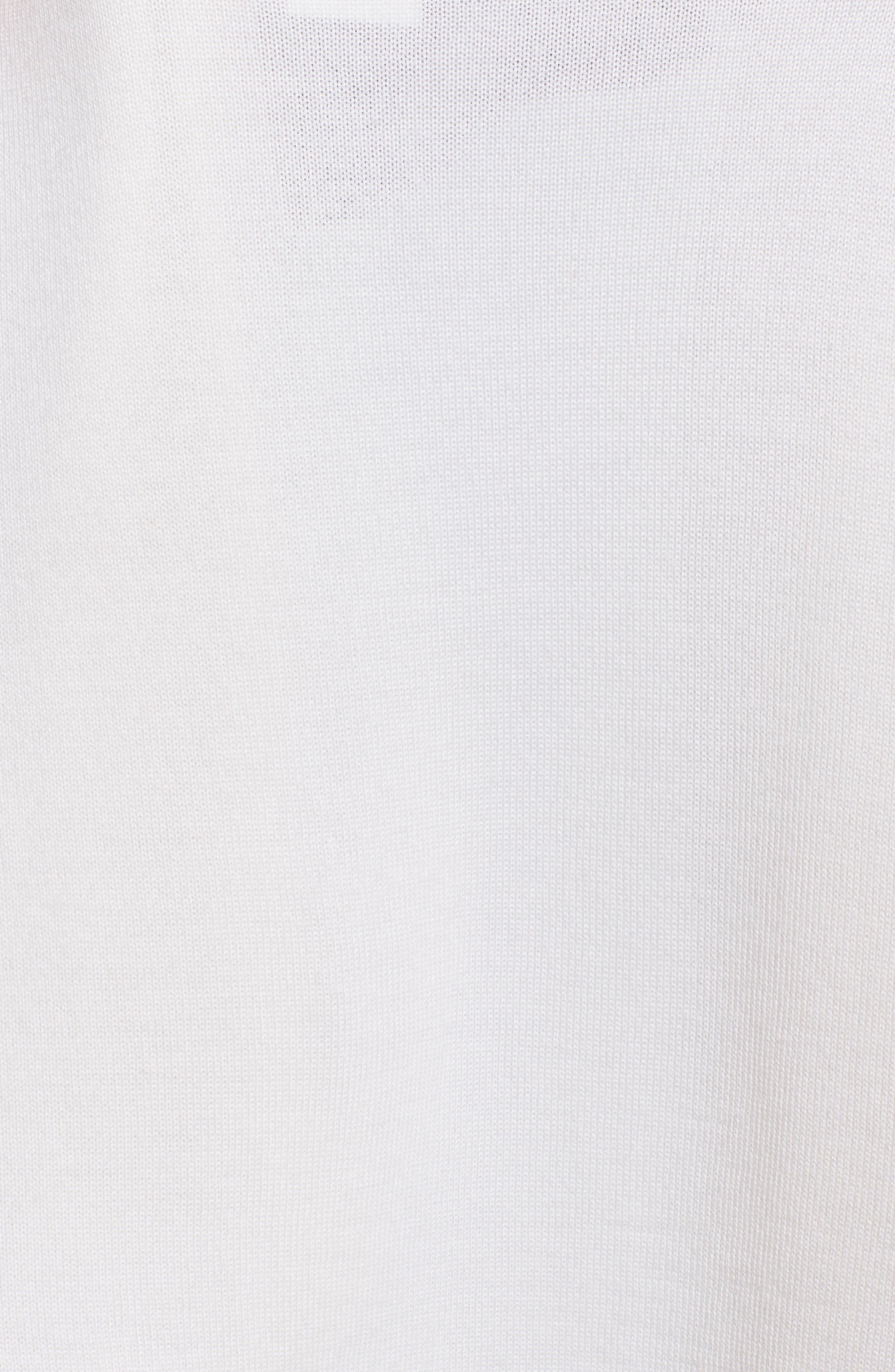 Cashmere & Silk Bolero,                             Alternate thumbnail 4, color,                             IVORY