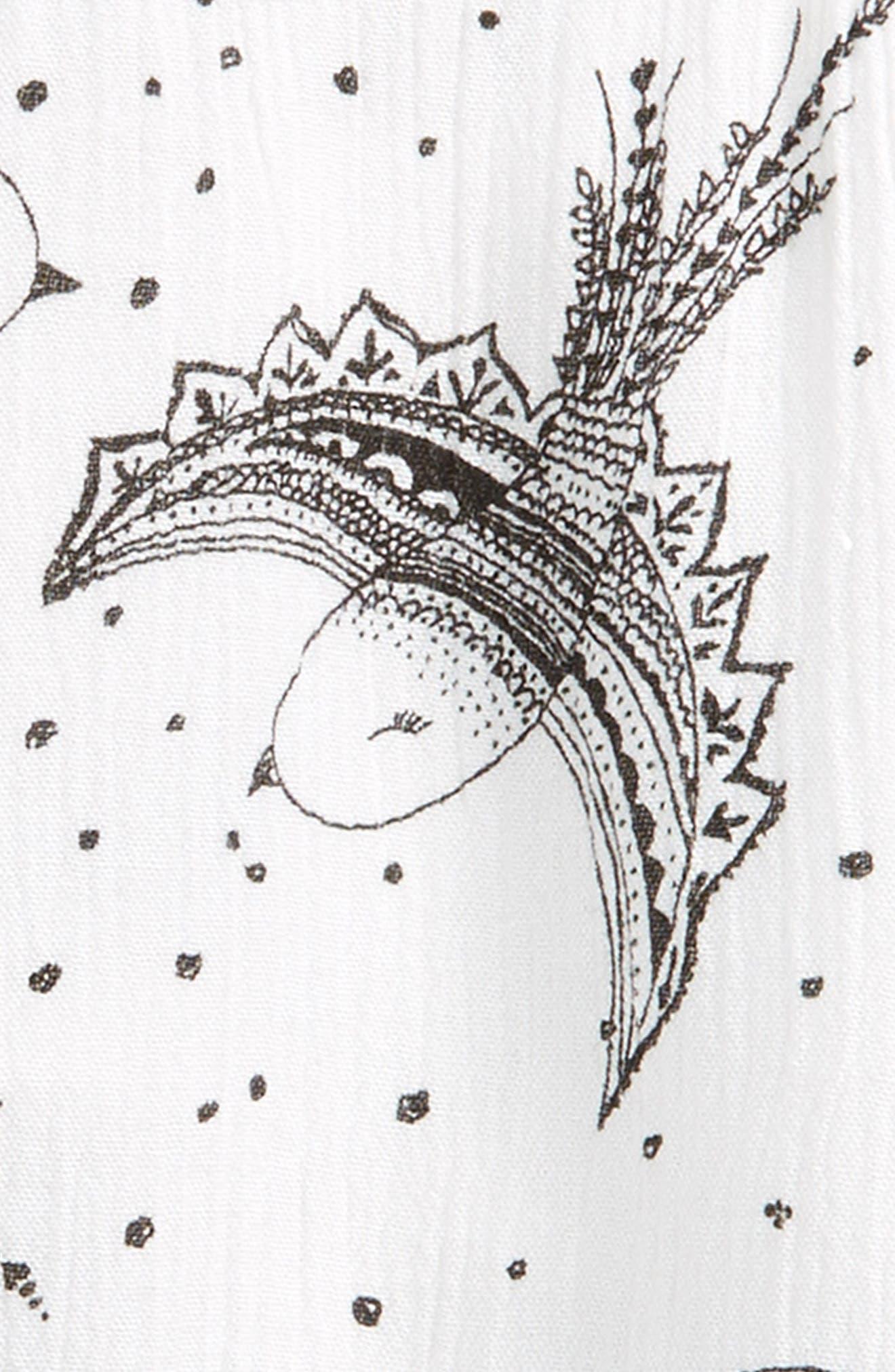 Flutter Sleeve Top,                             Alternate thumbnail 3, color,