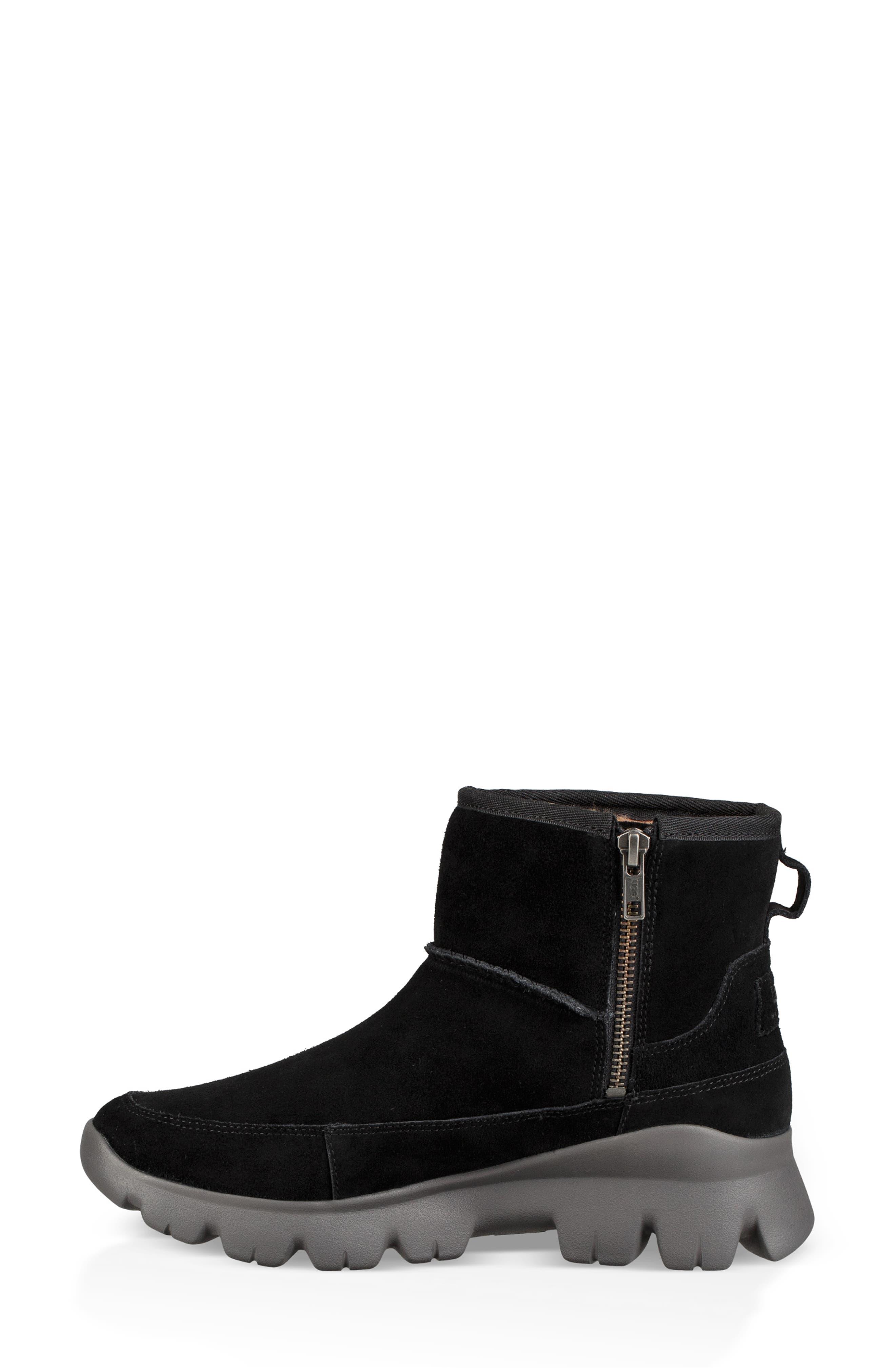 Palomar Waterproof Sneaker Bootie,                             Alternate thumbnail 6, color,                             BLACK/ CHARCOAL SUEDE