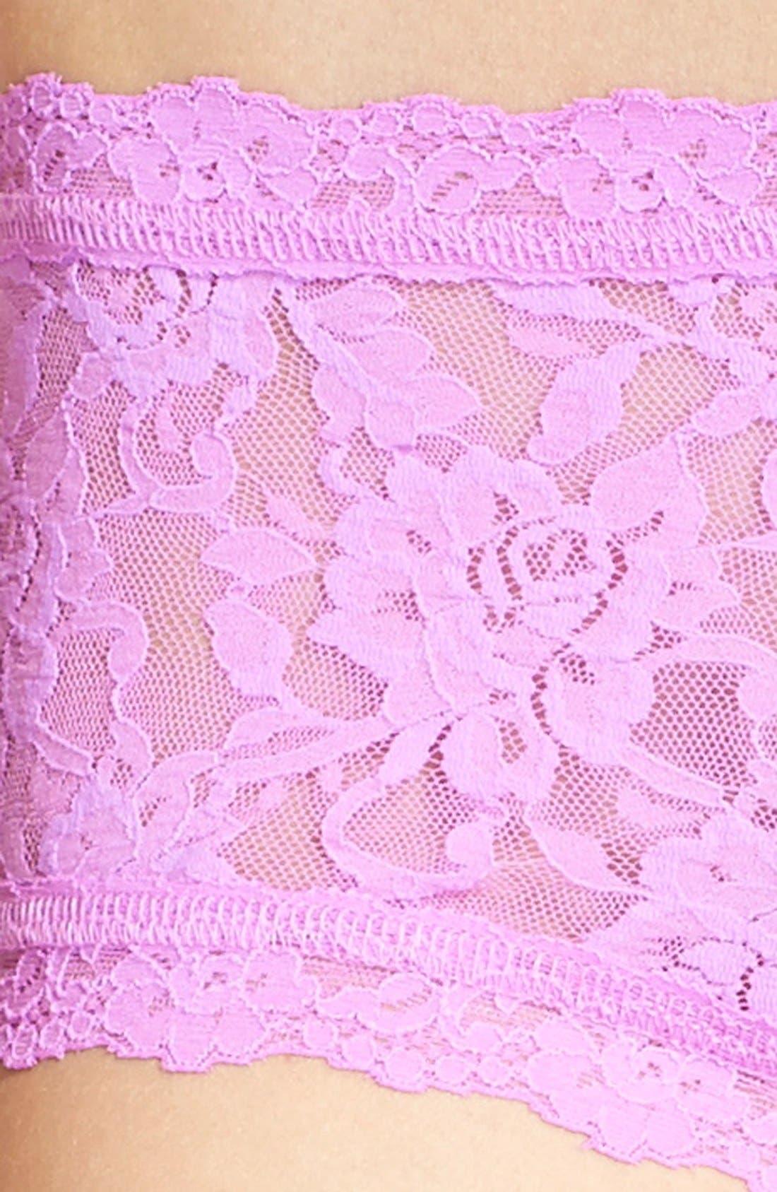'Signature Lace' Boyshorts,                             Alternate thumbnail 319, color,