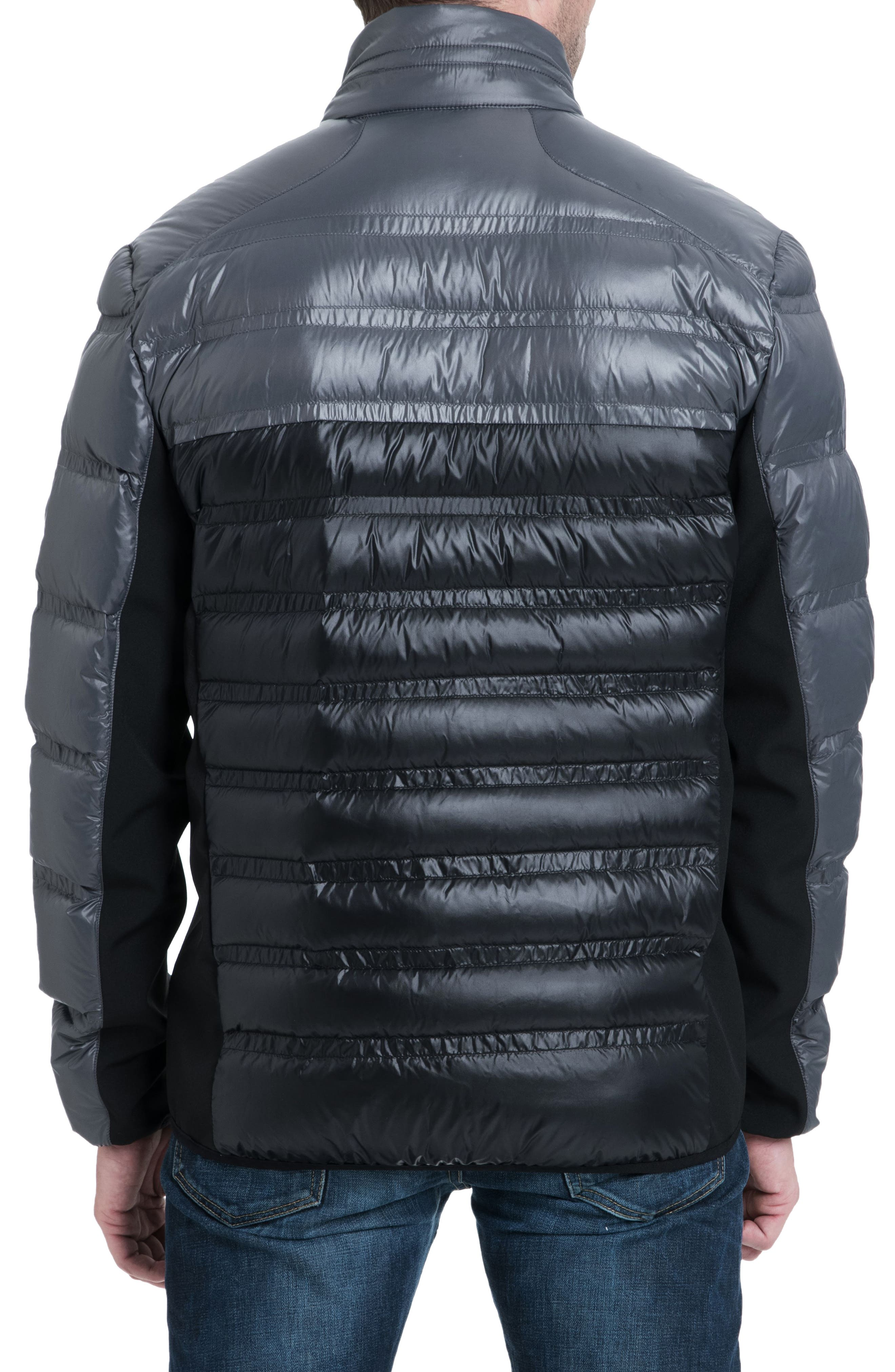 Hartwick Down Insulated Jacket,                             Alternate thumbnail 2, color,                             GUNMETAL