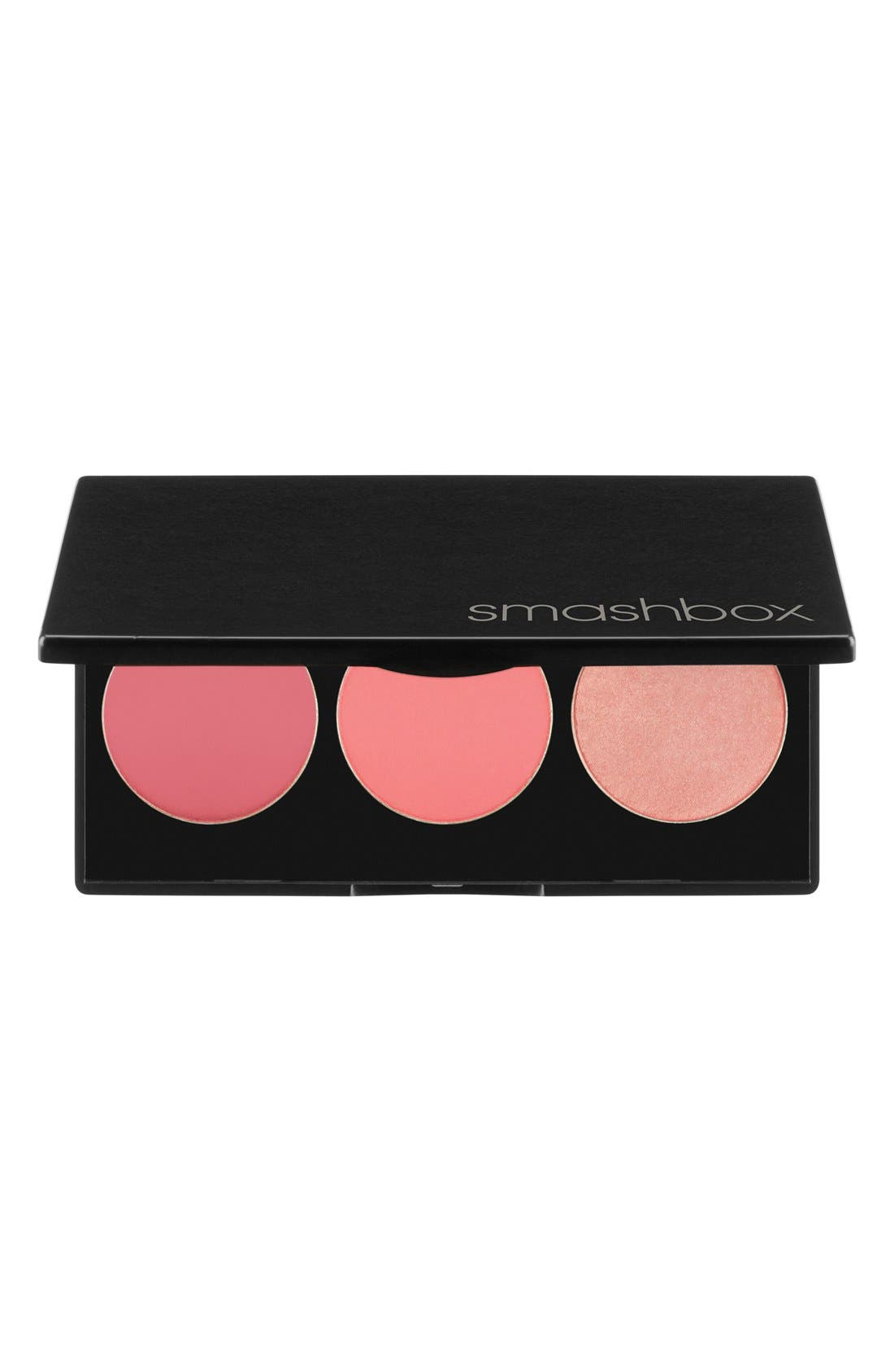 L.A. Lights Blush & Highlighter Palette,                             Main thumbnail 1, color,                             PACIFIC COAST PINK