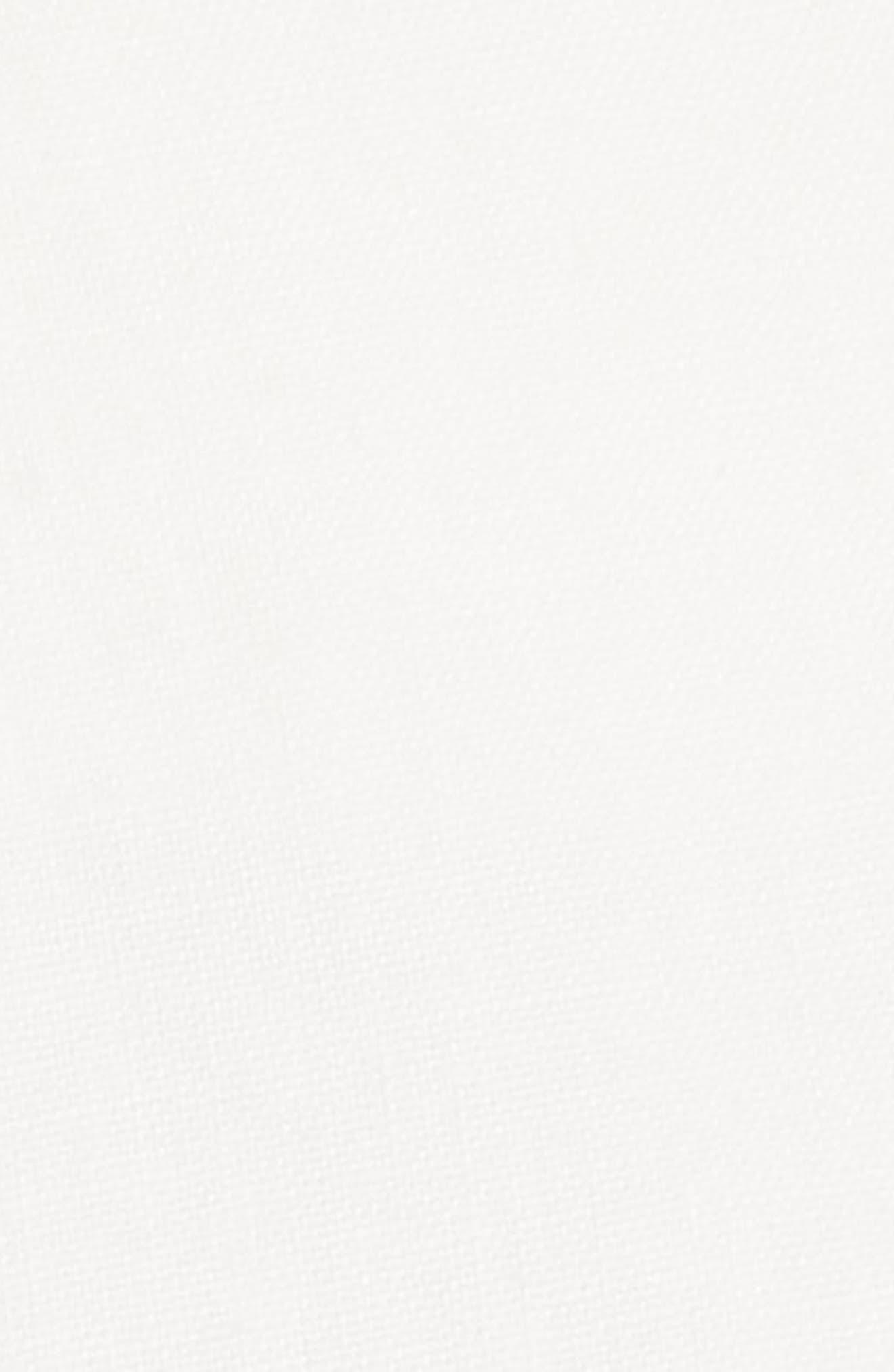 Nyssa Linen Shorts,                             Alternate thumbnail 6, color,                             IVORY