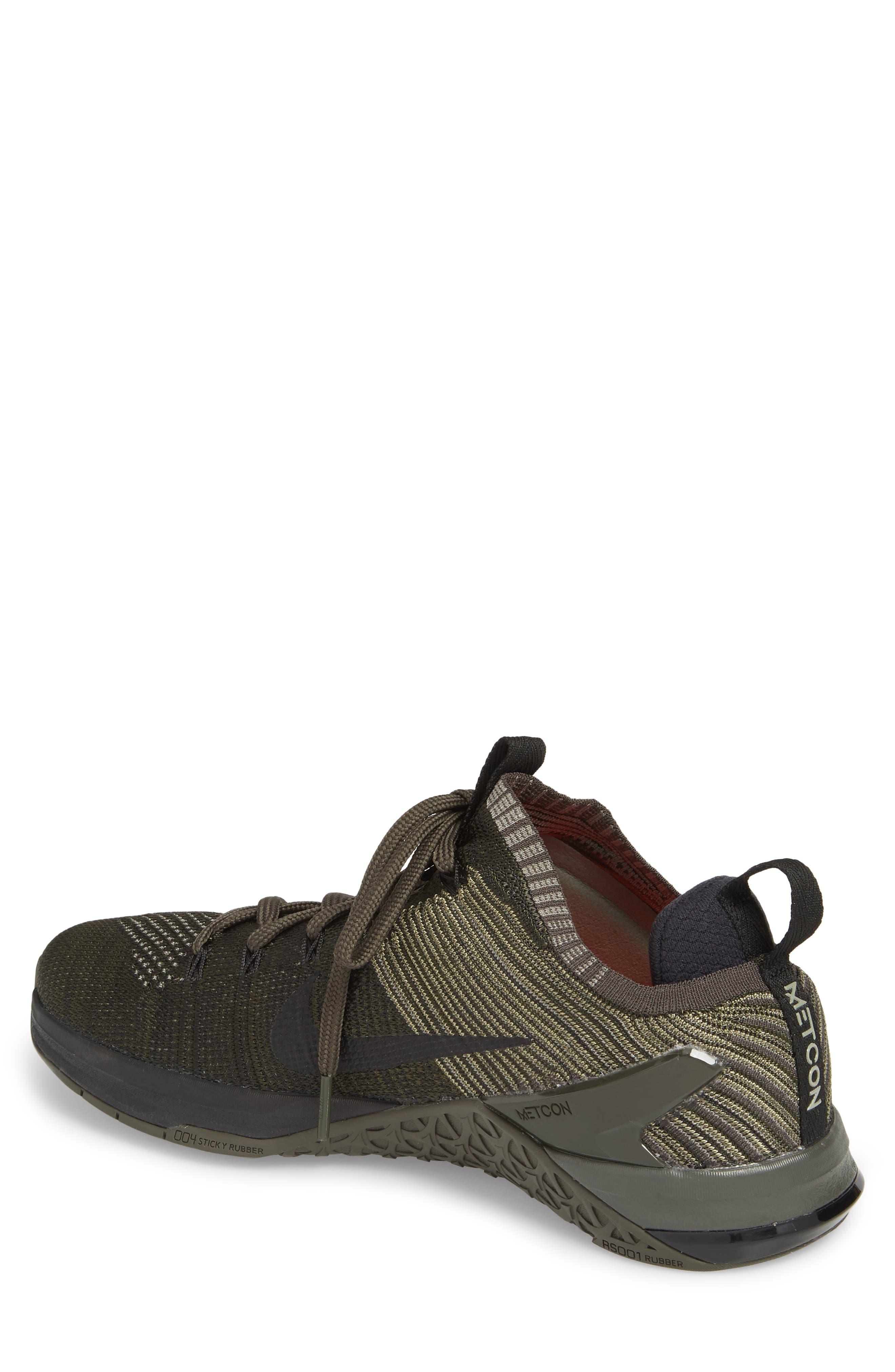 Metcon DSX Flyknit 2 Training Shoe,                             Alternate thumbnail 2, color,                             DARK STUCCO/ BLACK/ NEWSPRINT