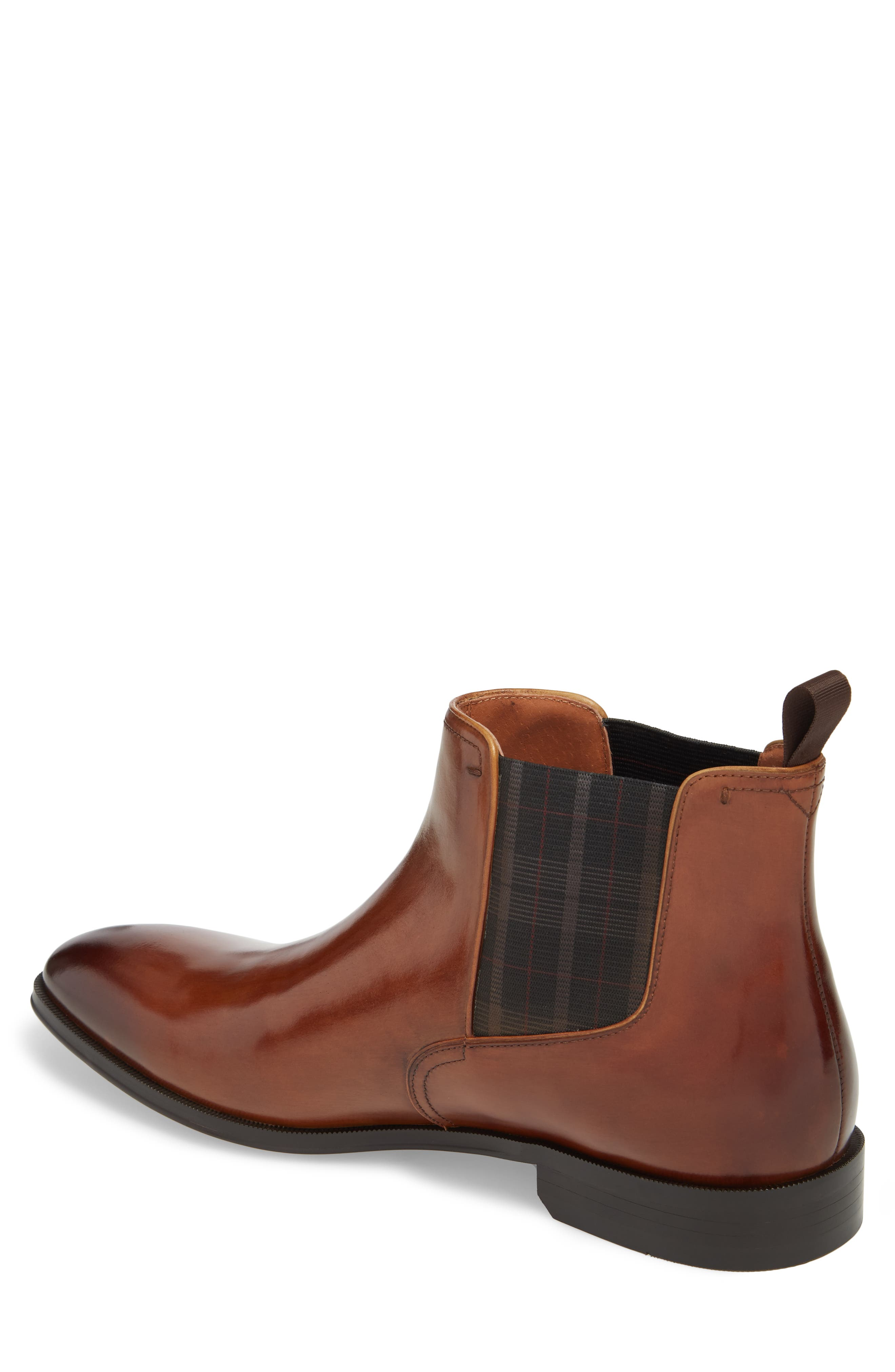 Belfast Chelsea Boot,                             Alternate thumbnail 2, color,                             COGNAC LEATHER