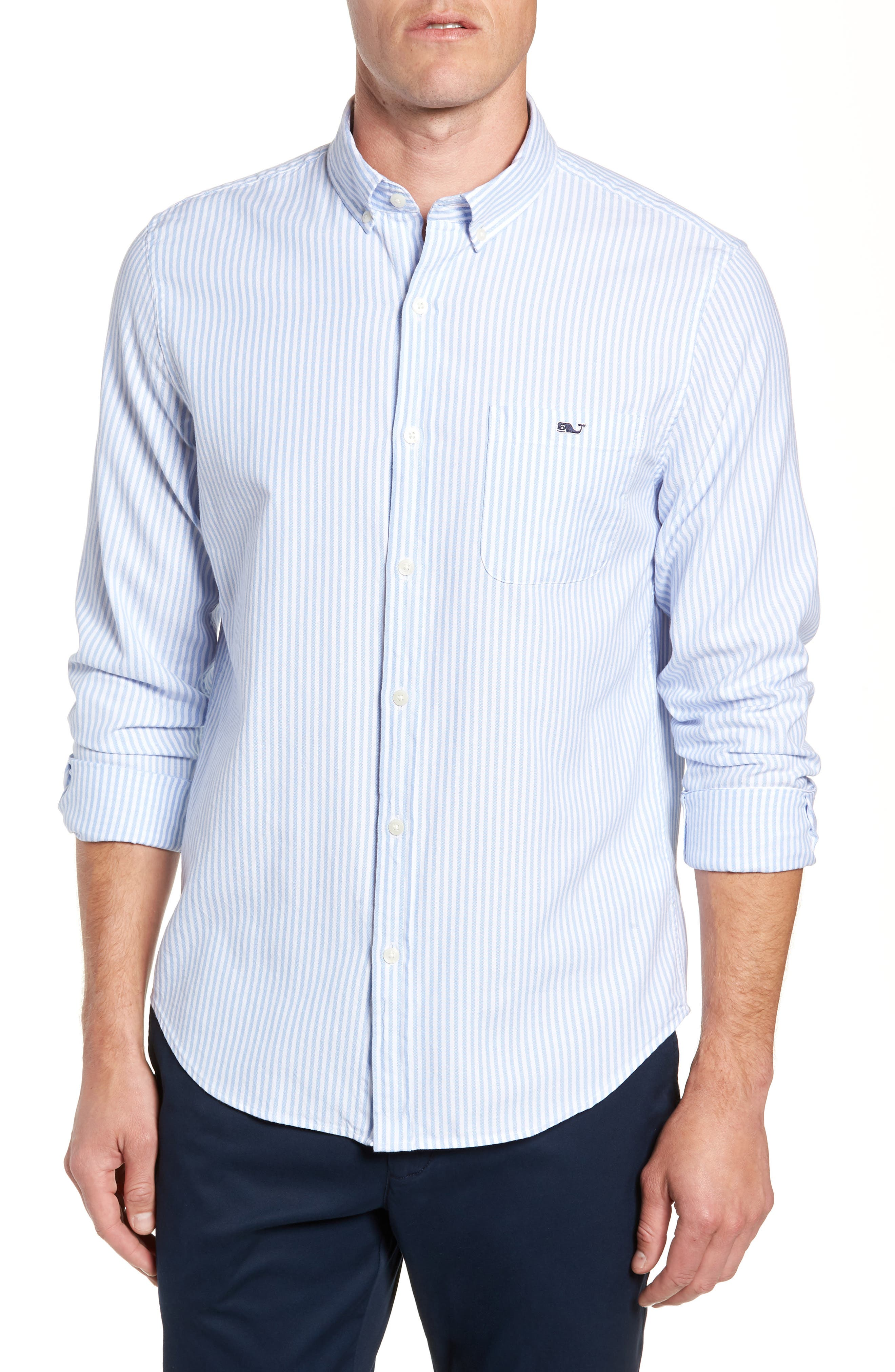 Tiloo Cay Slim Stretch Tucker Sport Shirt,                         Main,                         color, 484