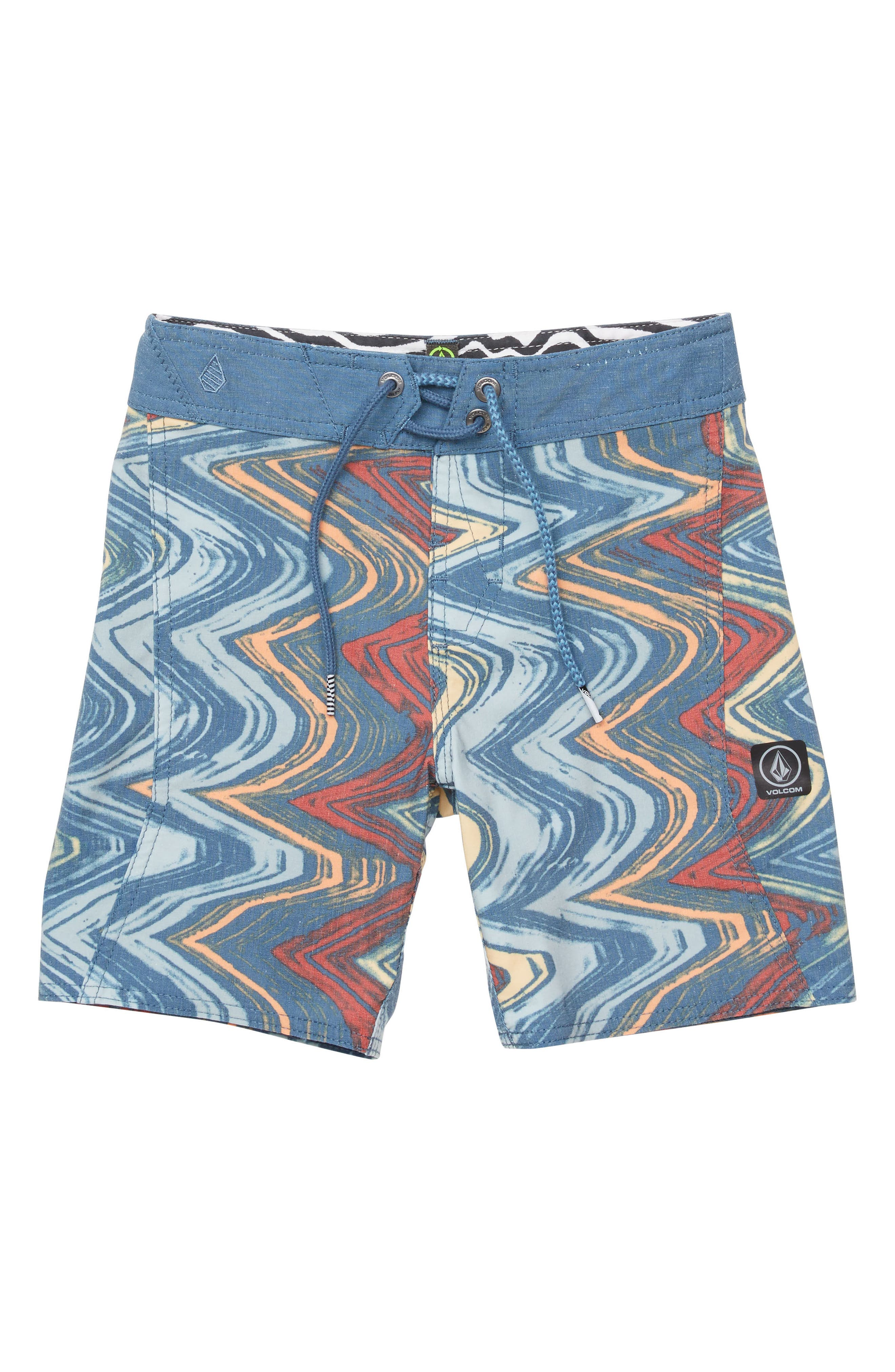 Lo-Fi Board Shorts,                             Main thumbnail 1, color,                             SUNBURST