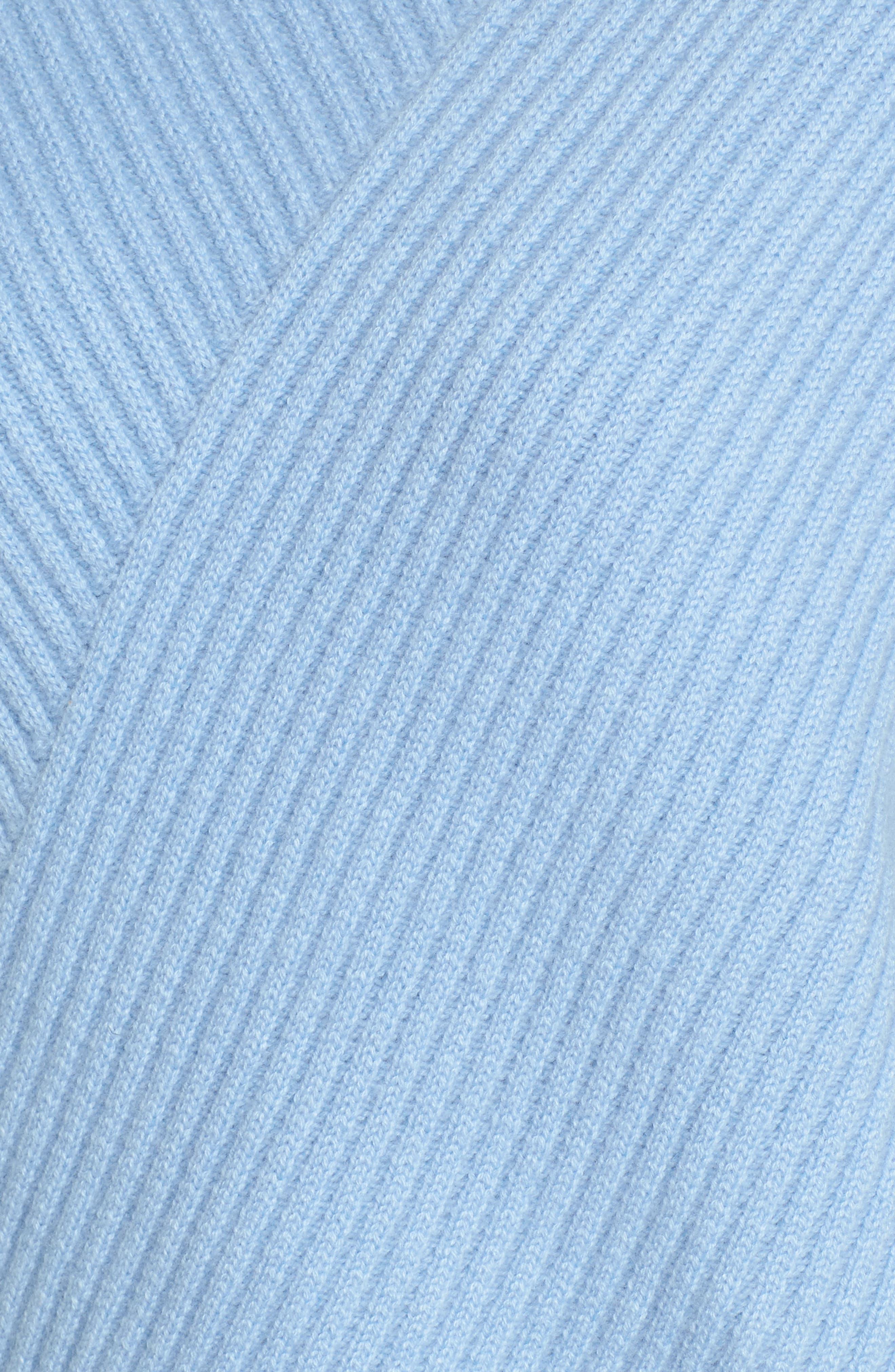 Bateau Neck Button Detail Cashmere Pullover,                             Alternate thumbnail 5, color,                             420