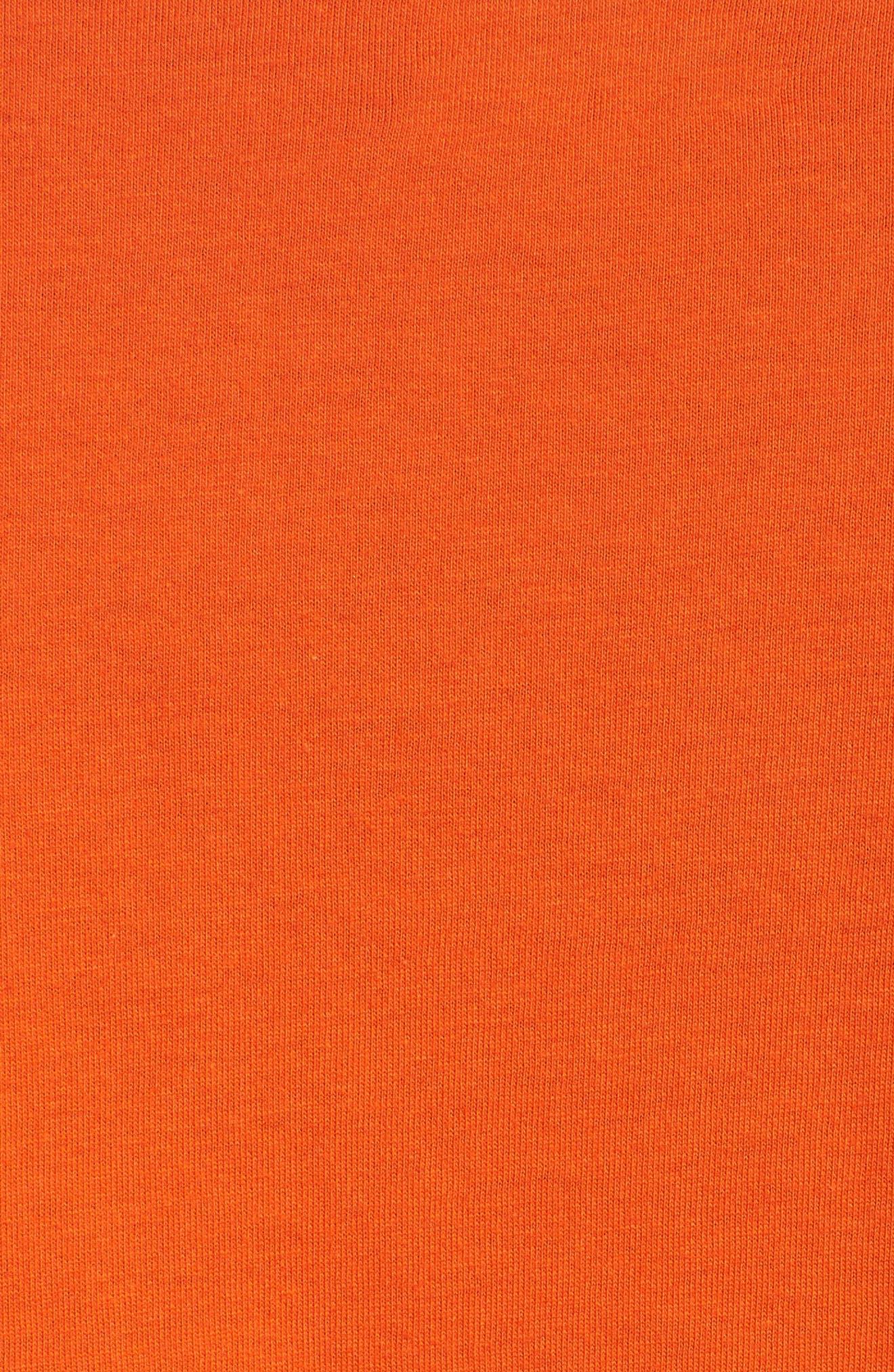 3-Pack Classic Fit T-Shirts,                             Alternate thumbnail 6, color,                             ORANGE/ GREEN/ ROYAL
