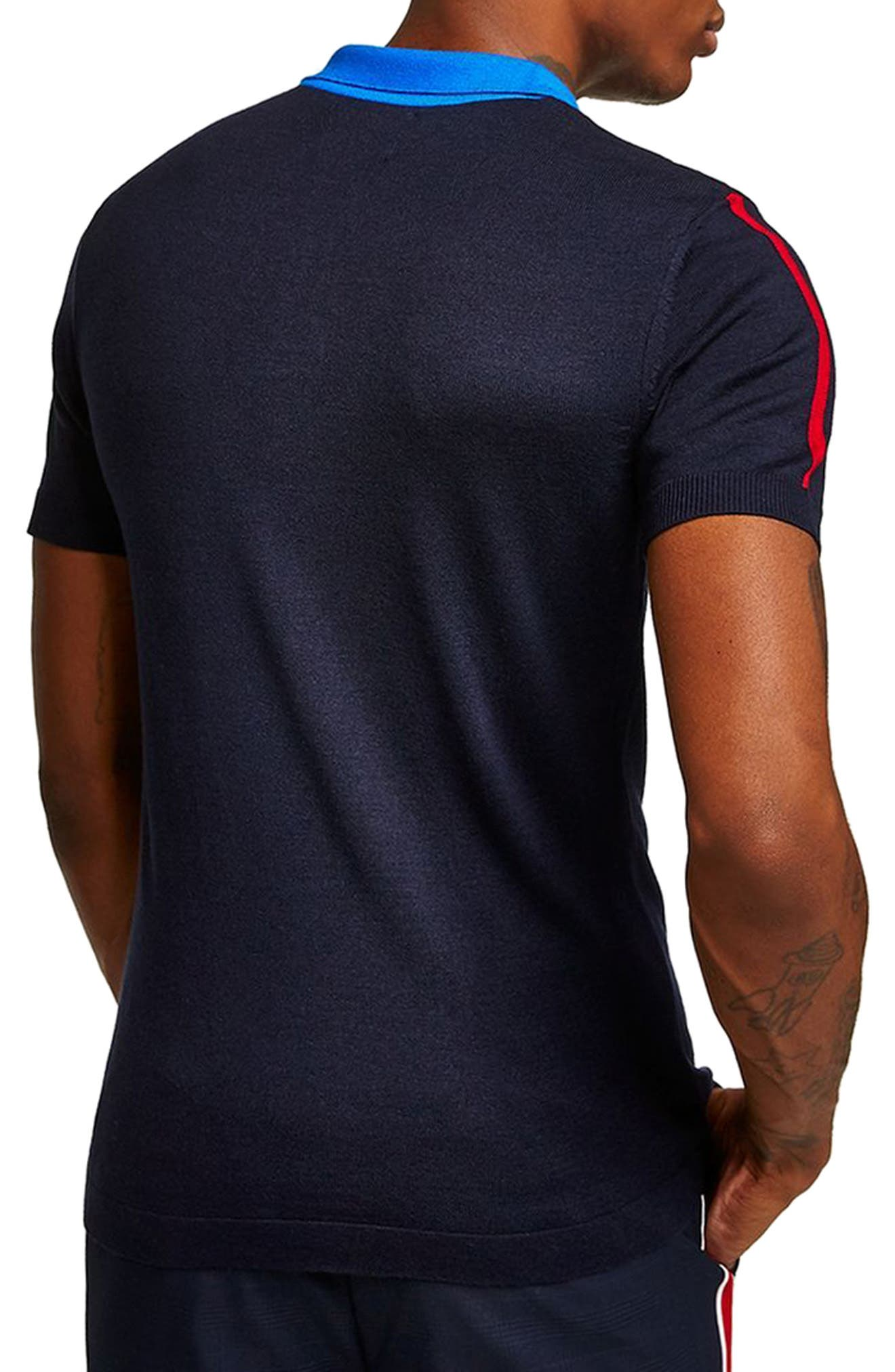 Colorblock Polo,                         Main,                         color, 401