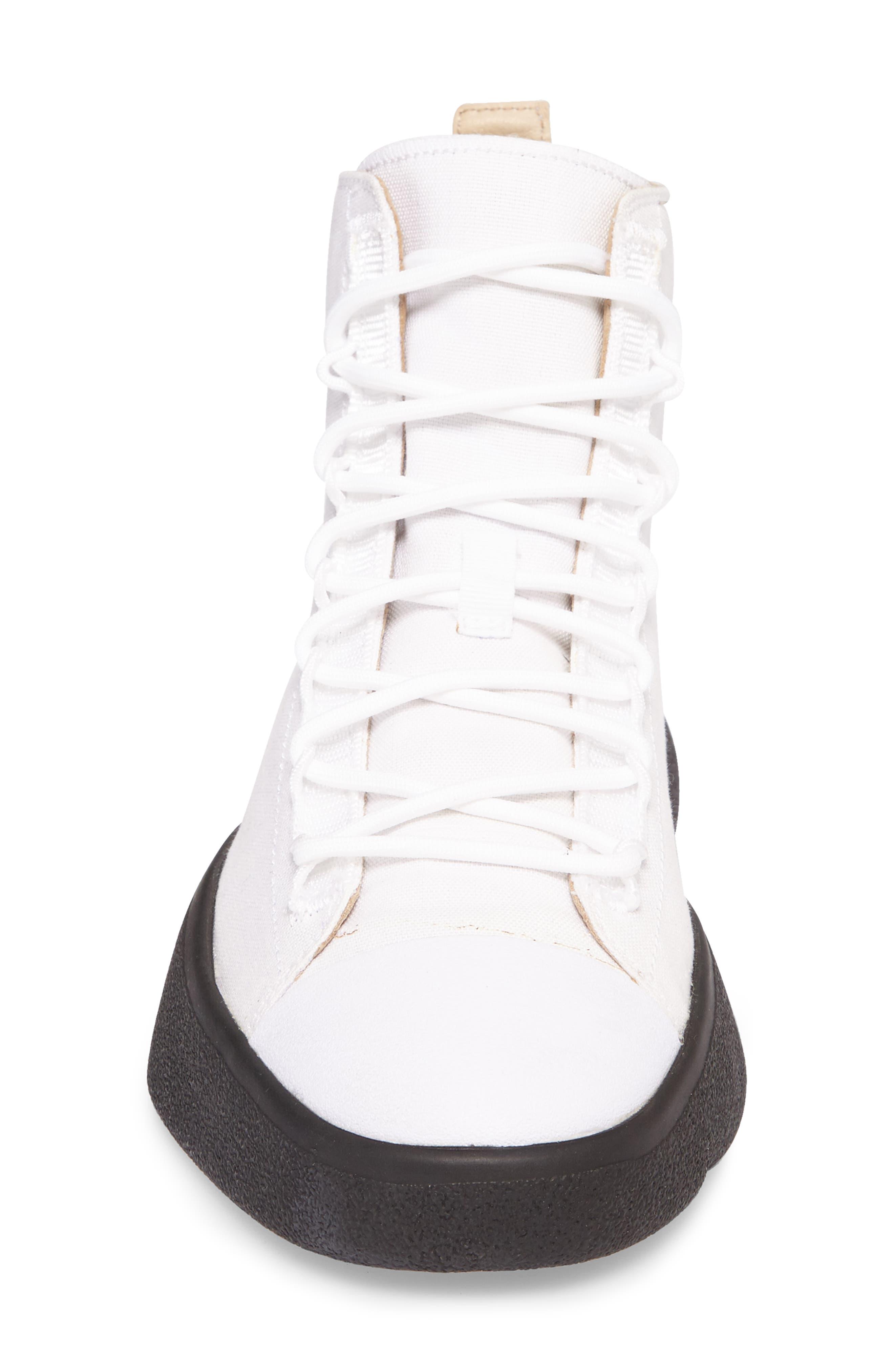 Bashyo High Top Sneaker,                             Alternate thumbnail 4, color,                             100