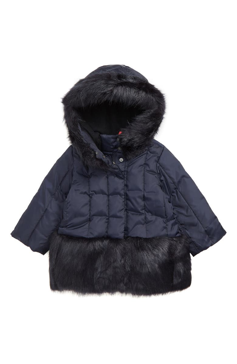3e5de6e7b950 crewcuts by J.Crew Primaloft® Insulated Puffer Jacket with Faux Fur ...
