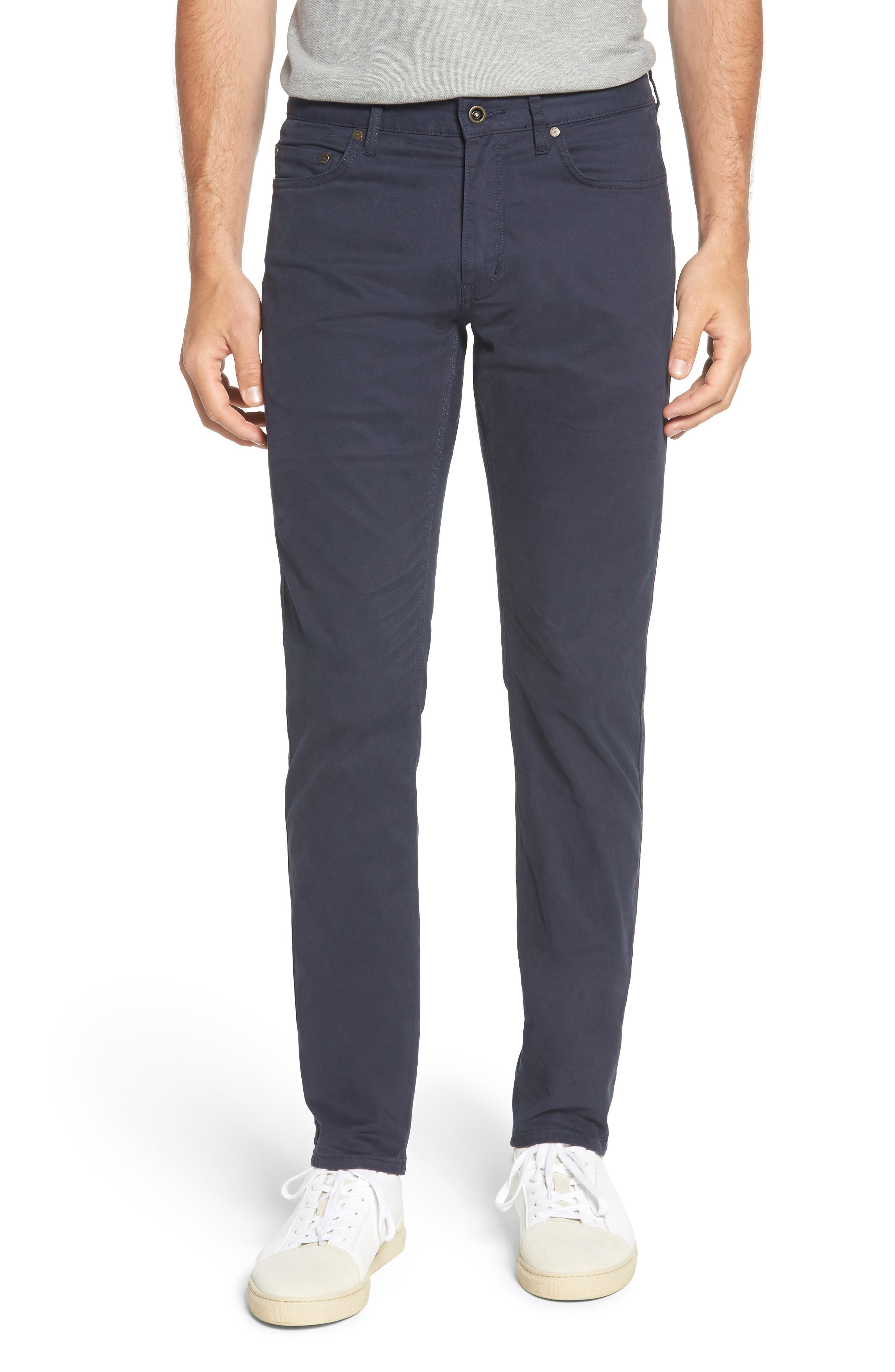 Fencourt Regular Fit Straight Leg Jeans,                         Main,                         color, MIDNIGHT