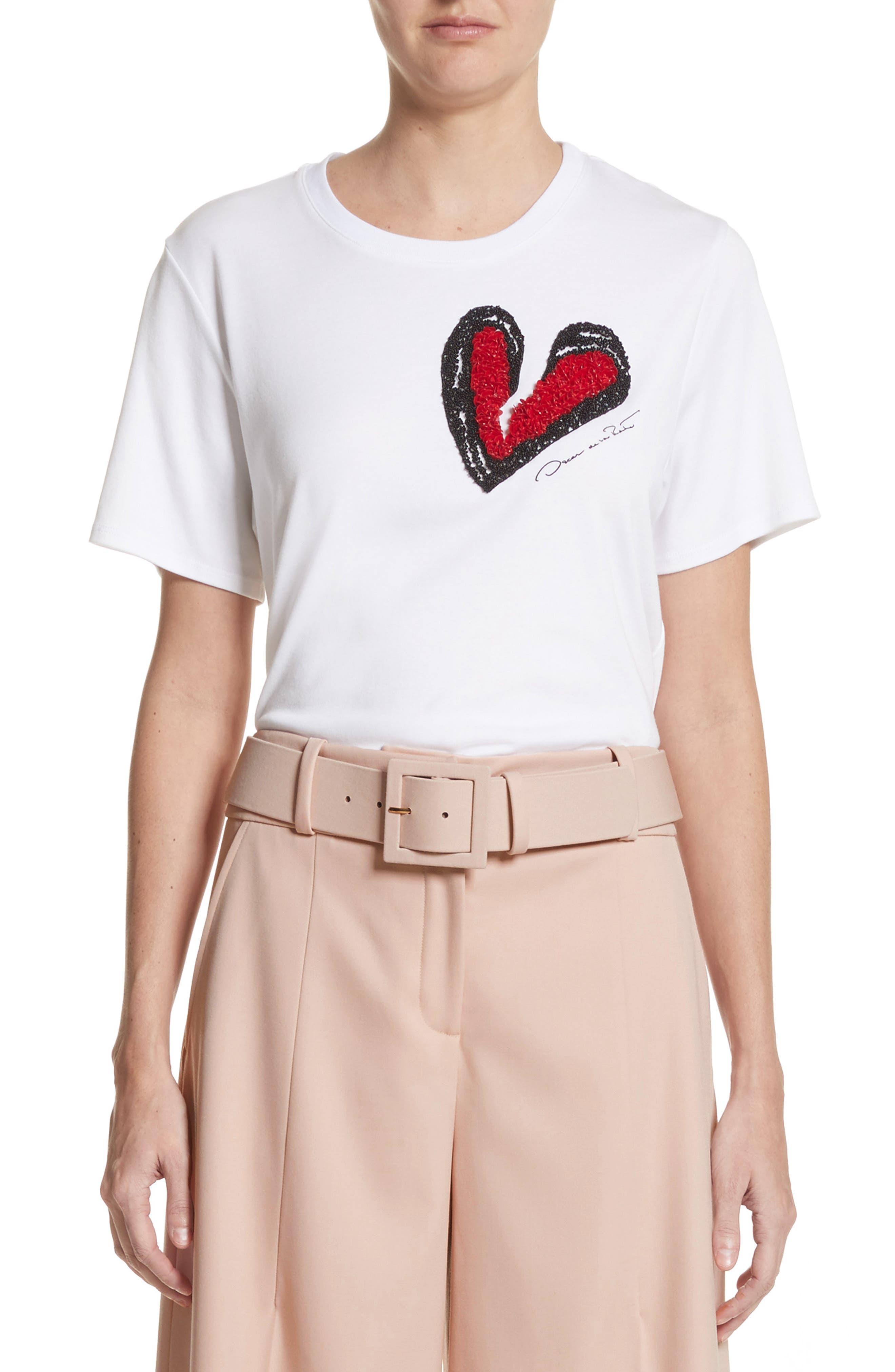 Heartbreaker Embellished Tee,                         Main,                         color,