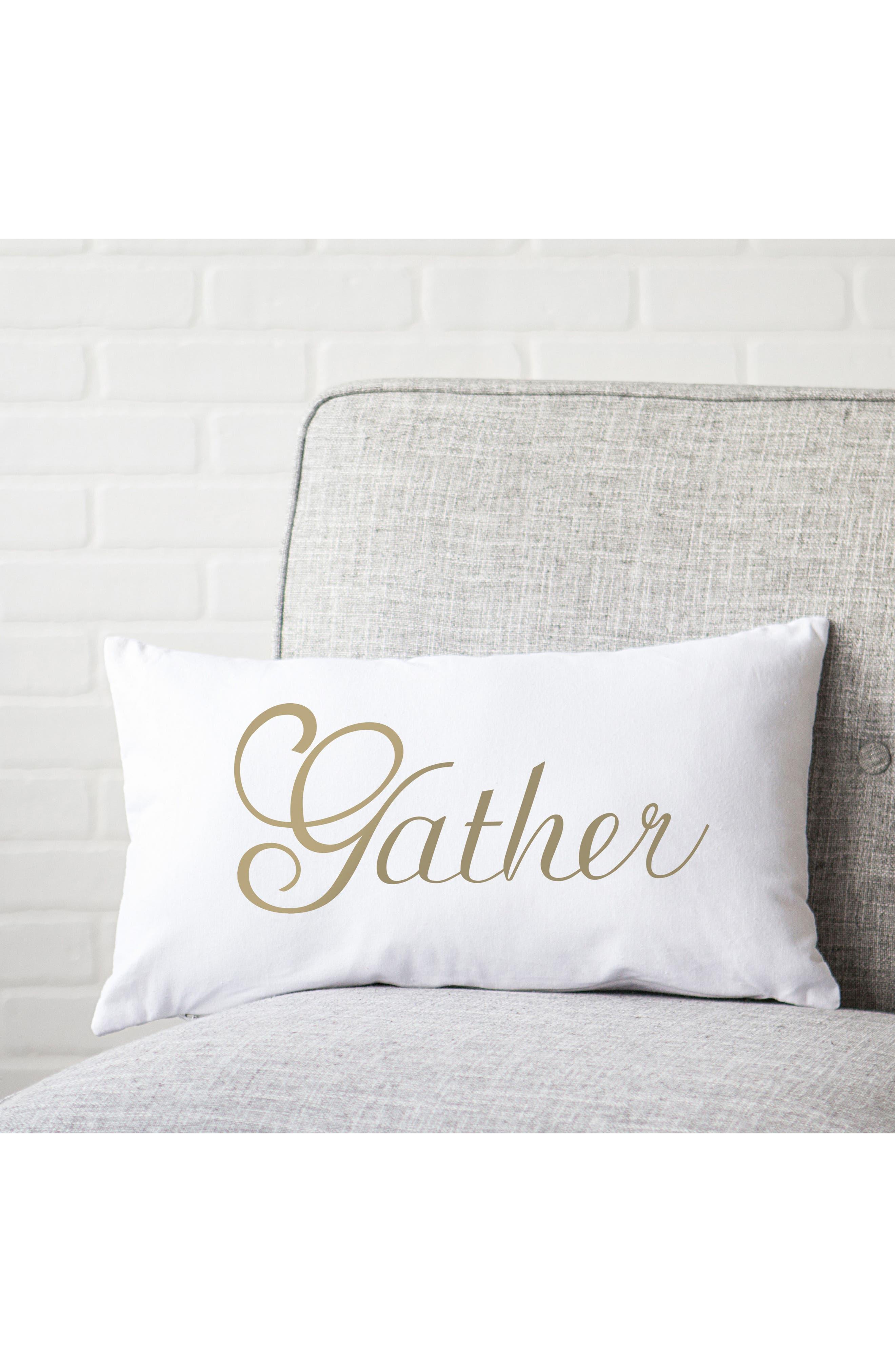 Gather Lumbar Accent Pillow,                             Alternate thumbnail 6, color,                             710