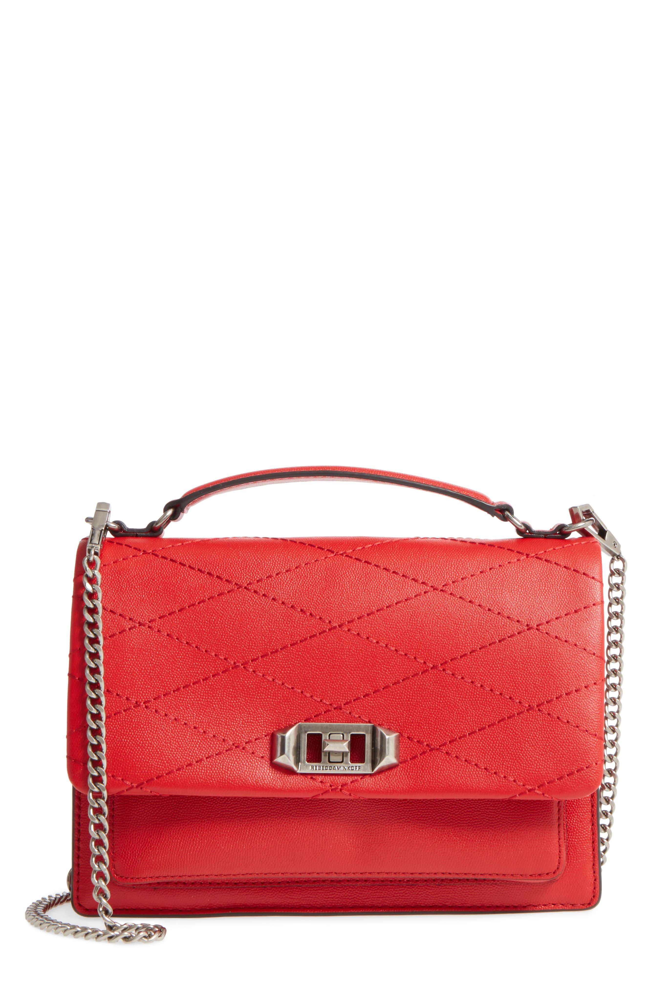 Medium Je T'aime Convertible Leather Crossbody Bag,                             Main thumbnail 7, color,