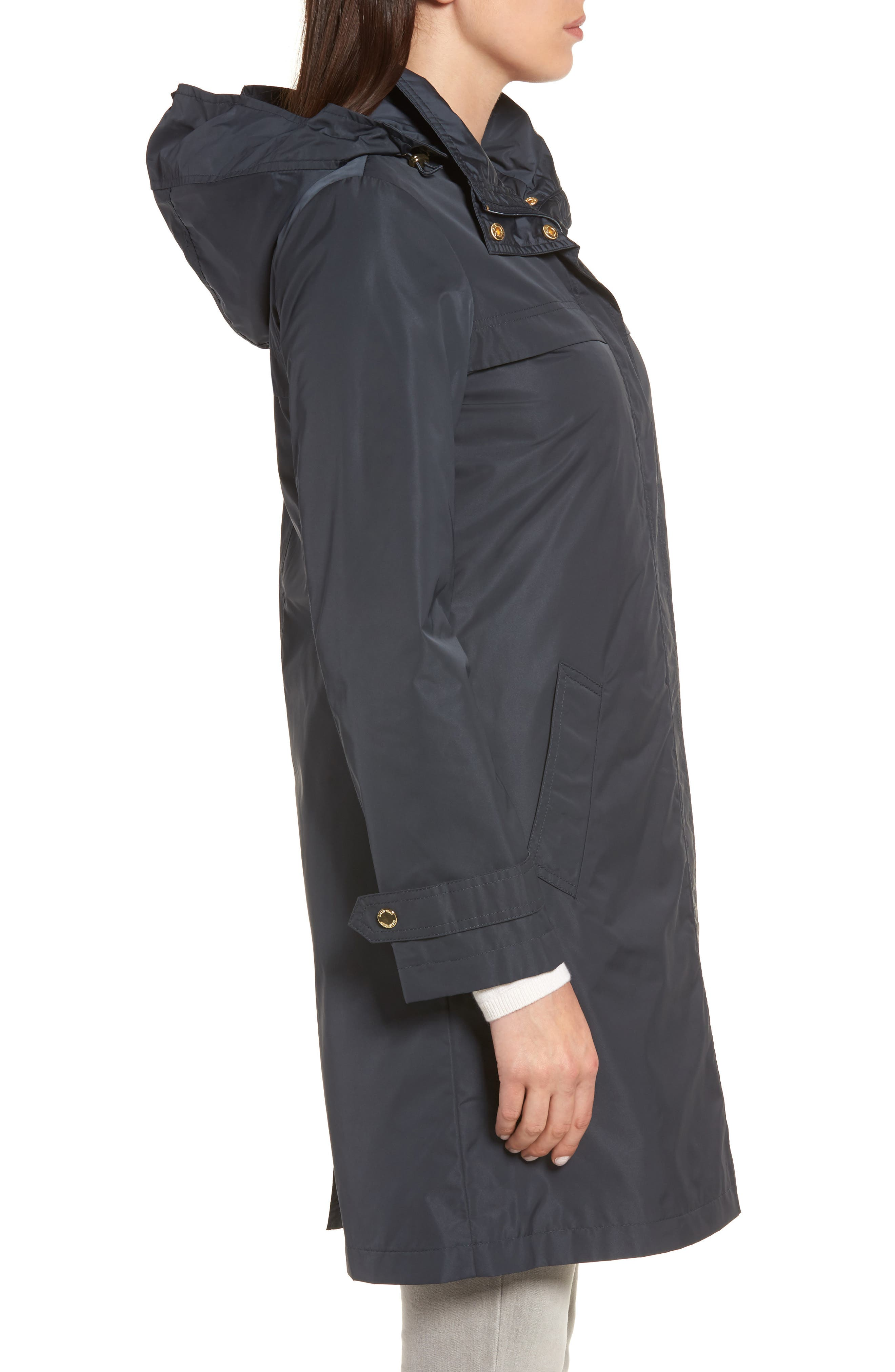 ELLEN TRACY,                             Raincoat with Detachable Hood,                             Alternate thumbnail 3, color,                             410