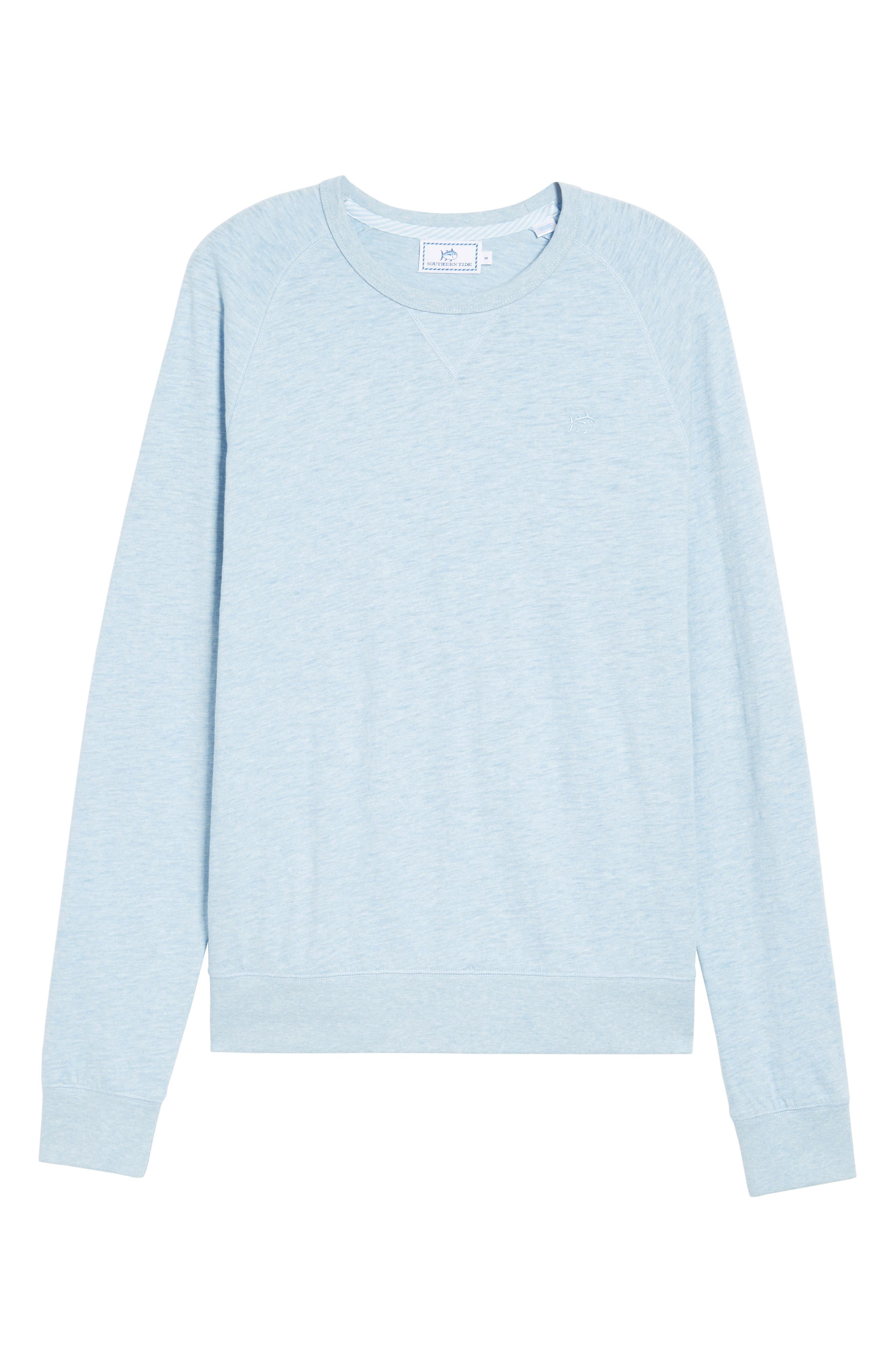 Ocean Course Crewneck Sweatshirt,                             Alternate thumbnail 6, color,                             450