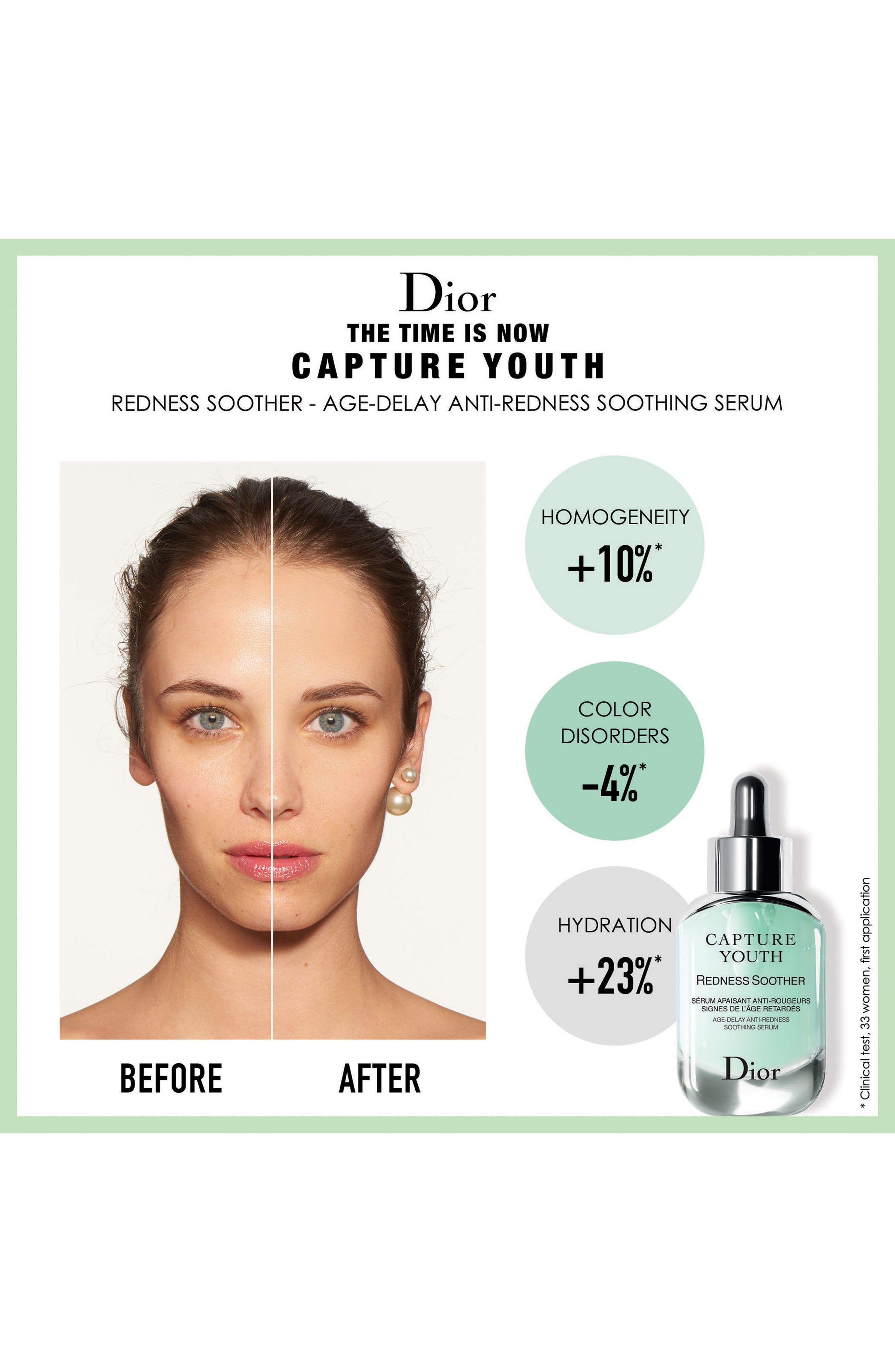 Capture Youth Redness Soother Age-Delay Anti-Redness Serum,                             Alternate thumbnail 3, color,                             NO COLOR