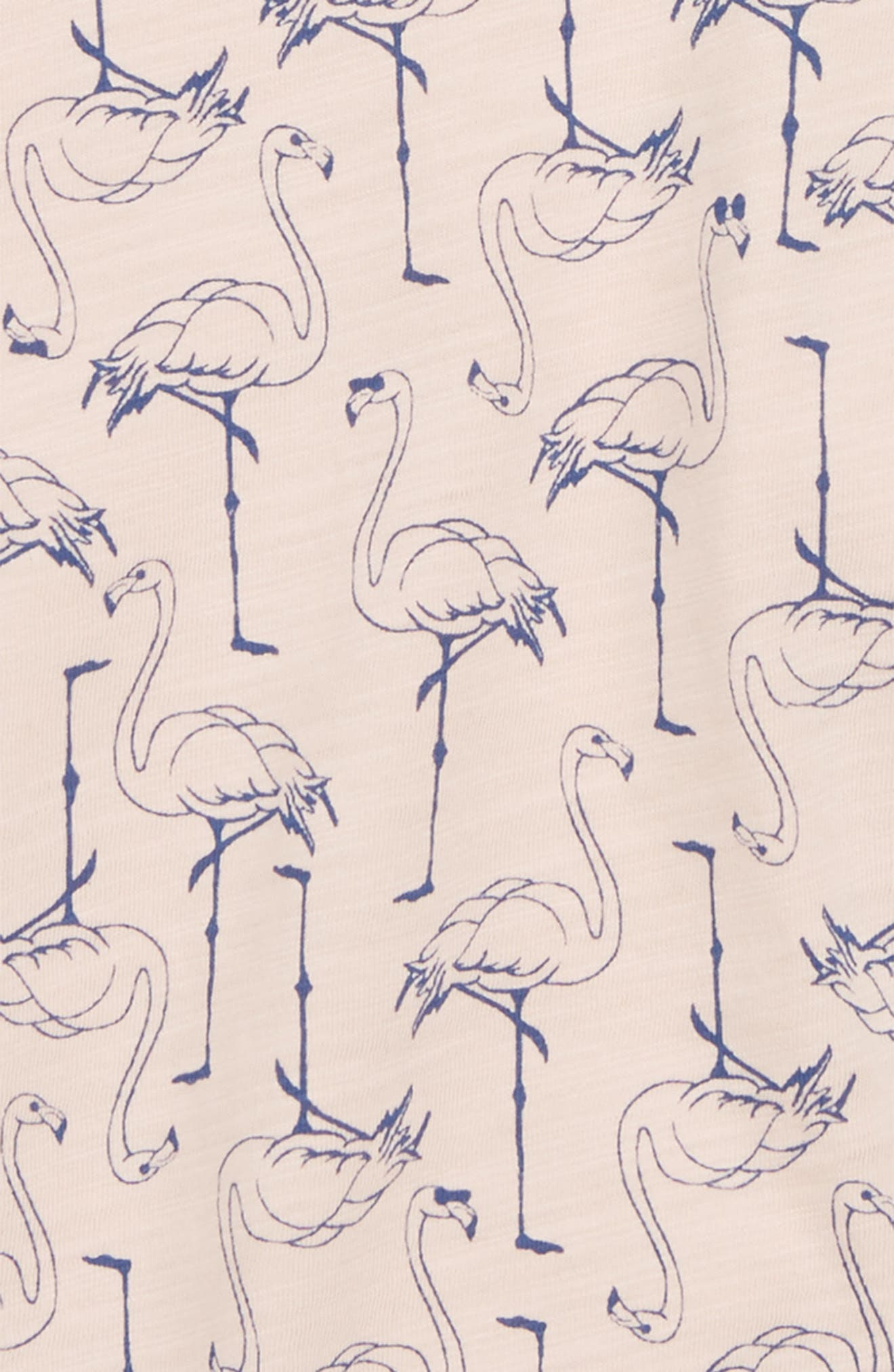 Flamingo Flutter Tee,                             Alternate thumbnail 2, color,                             650