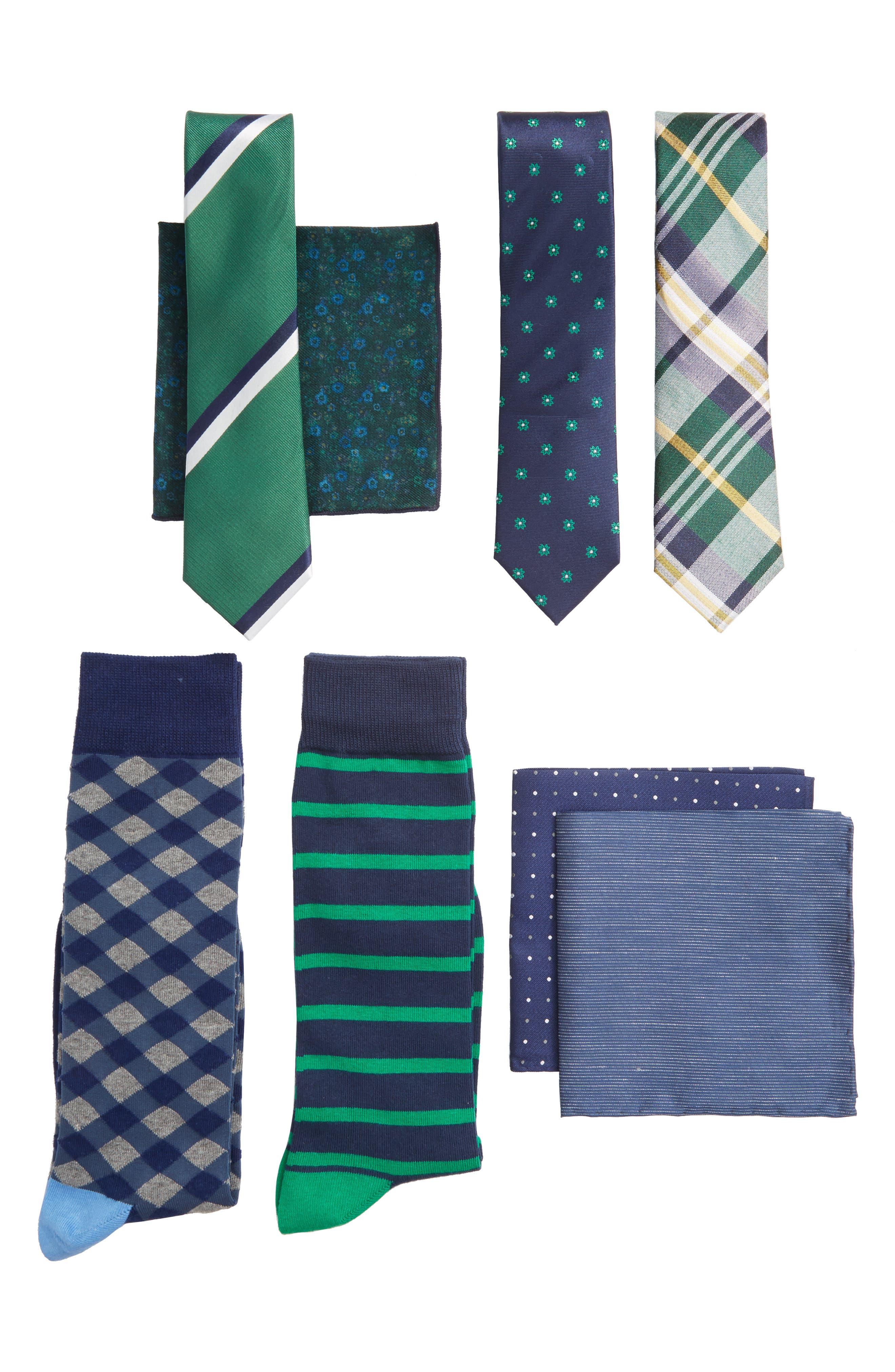 THE TIE BAR Large Style Box, Main, color, 300