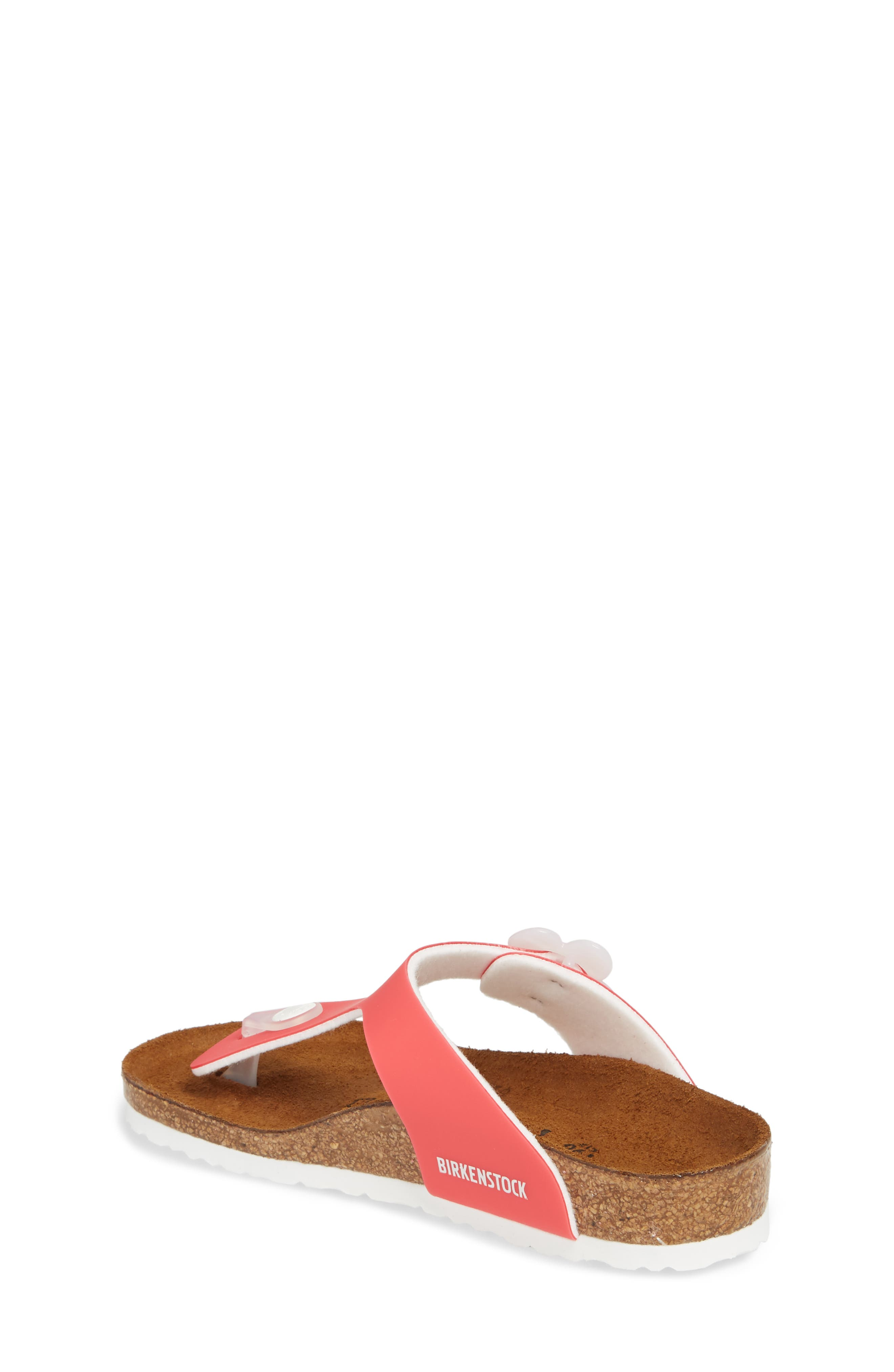 Gizeh Flowered Thong Sandal,                             Alternate thumbnail 2, color,                             650