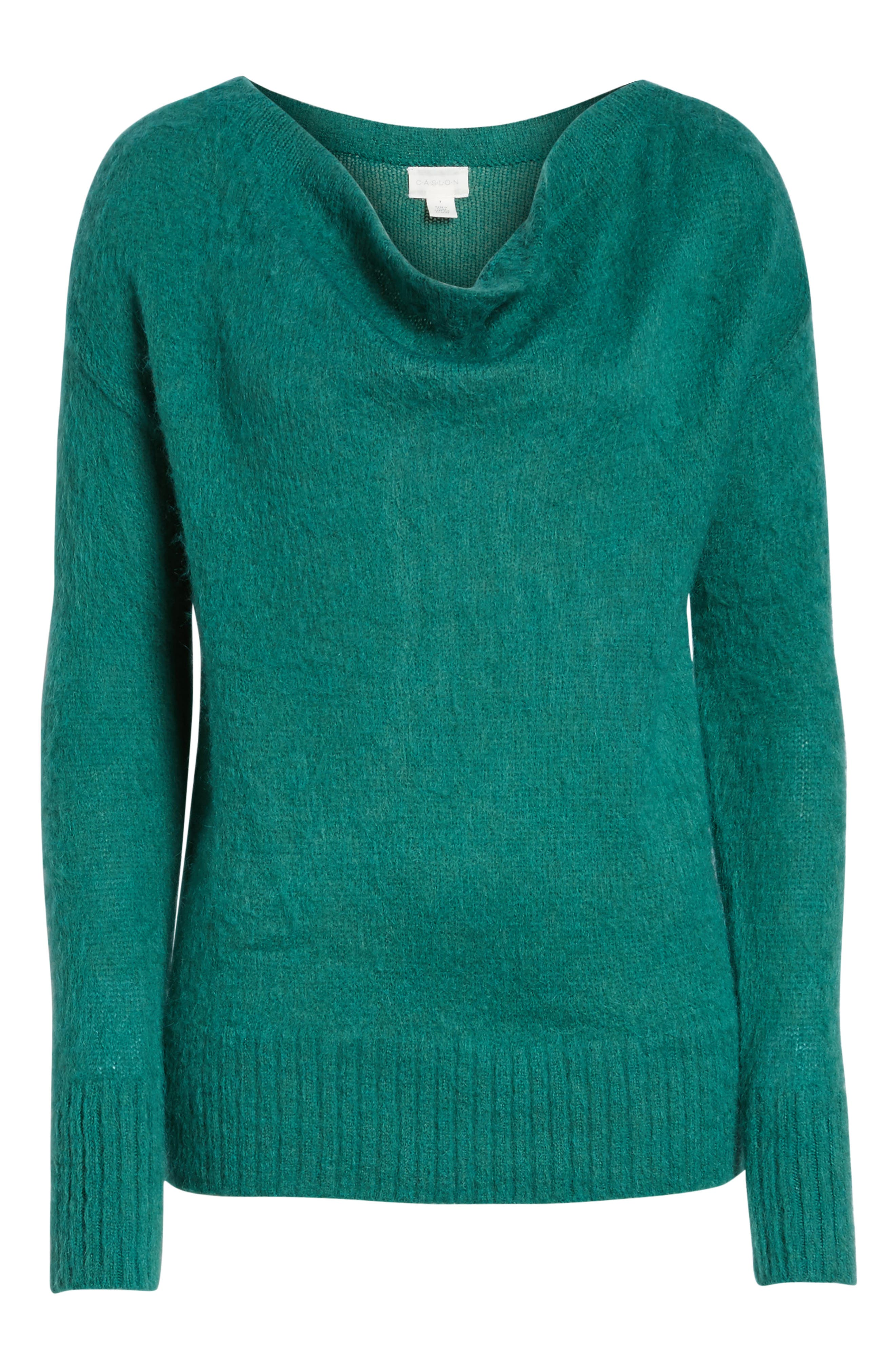 Long Sleeve Brushed Sweater,                             Alternate thumbnail 33, color,