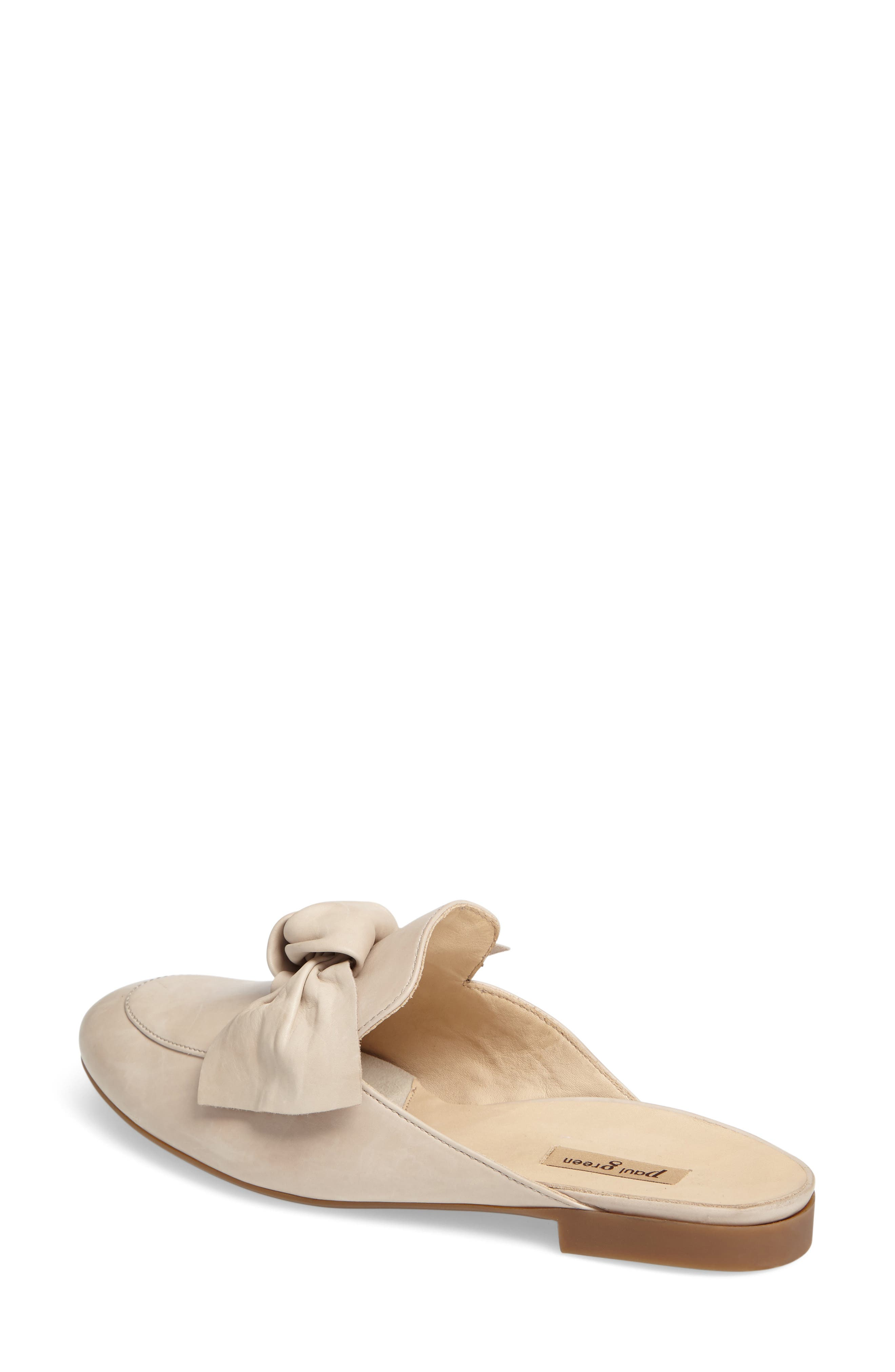 Mary Bow Mule Loafer,                             Alternate thumbnail 4, color,