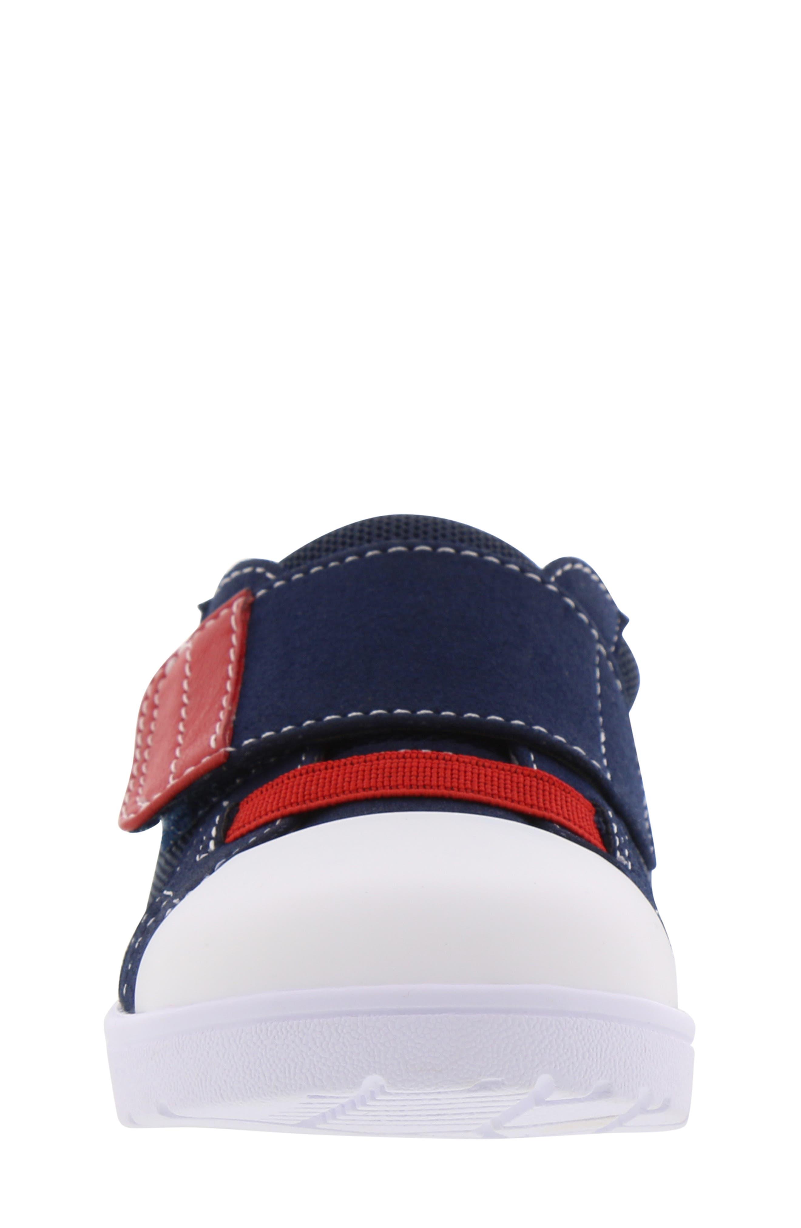 BØRN,                             Bailey Clark Sneaker,                             Alternate thumbnail 4, color,                             NAVY
