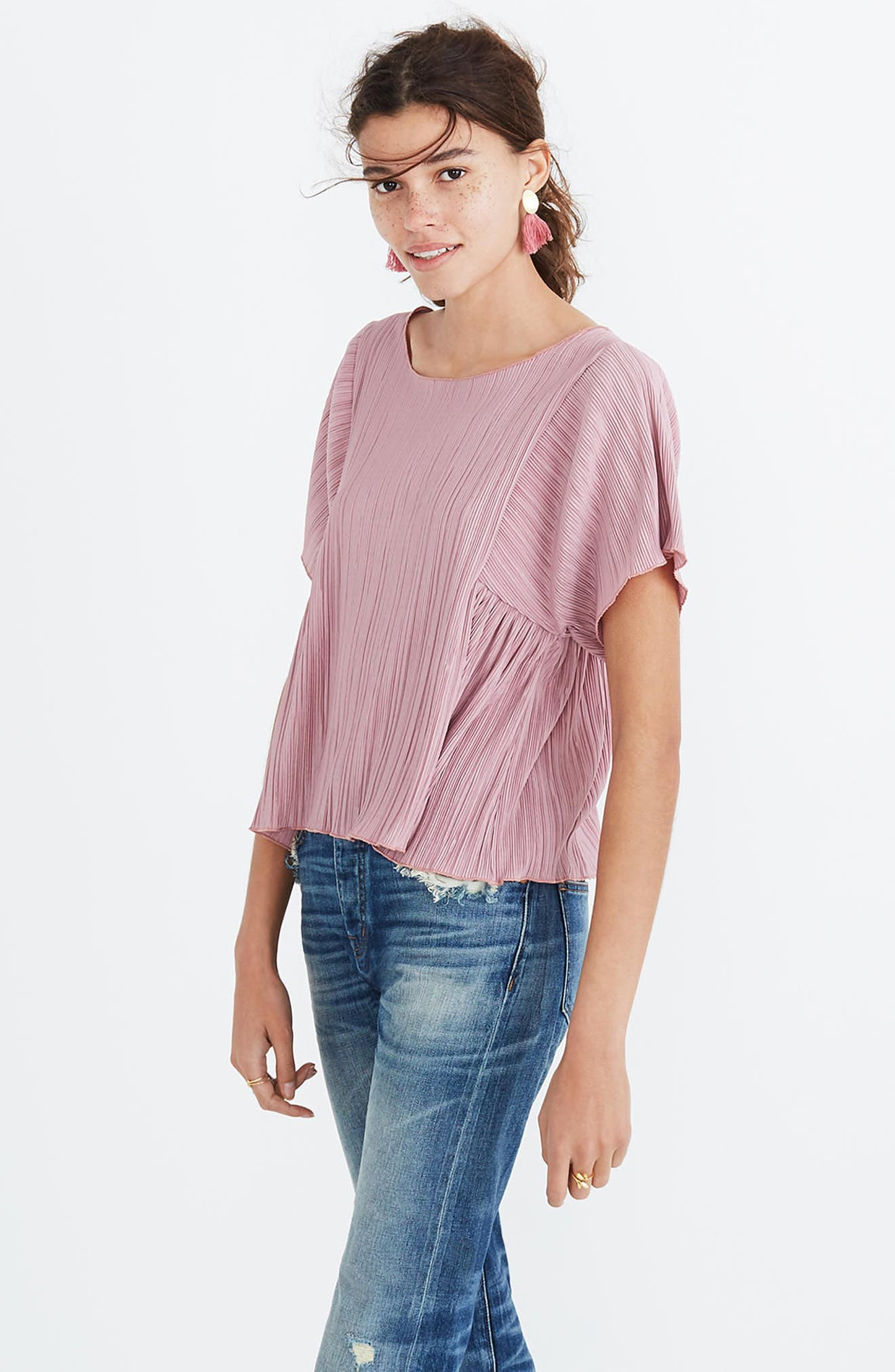 Micropleat Top,                             Alternate thumbnail 15, color,