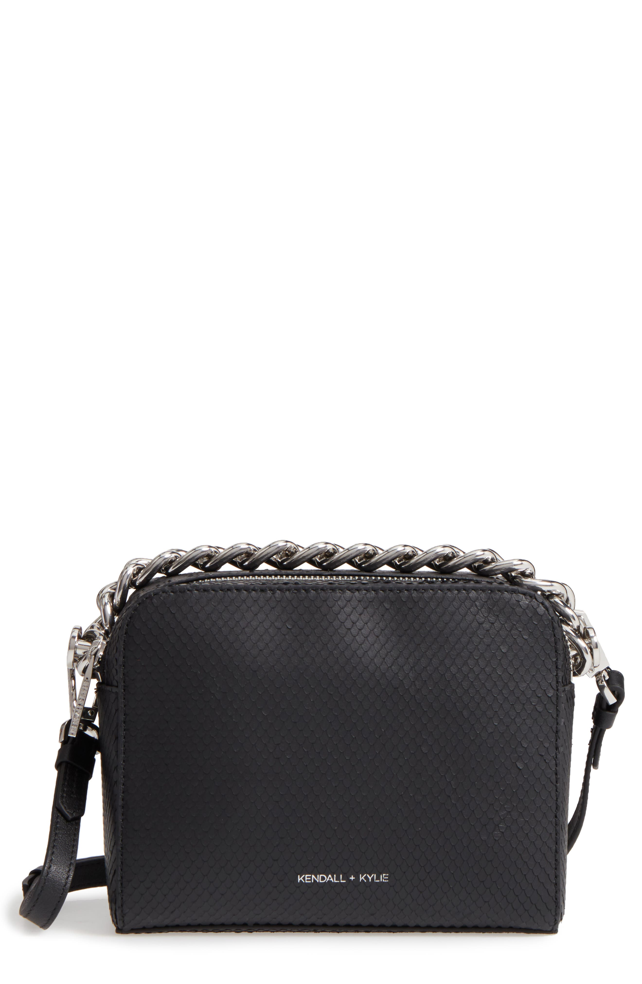 Lucy Leather Crossbody Bag,                         Main,                         color, 001