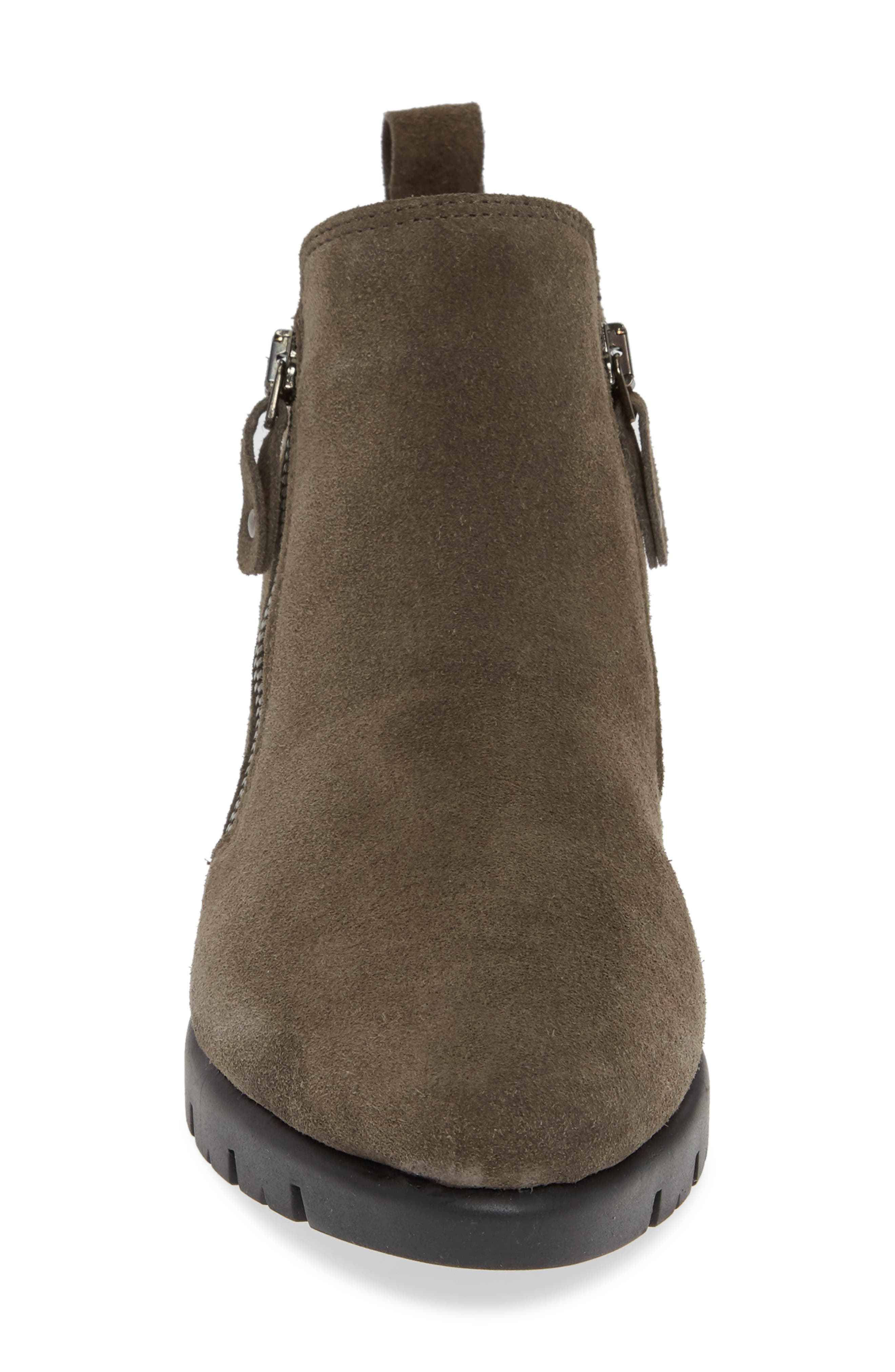 Hot Tamale Bootie,                             Alternate thumbnail 4, color,                             BROWN SUEDE