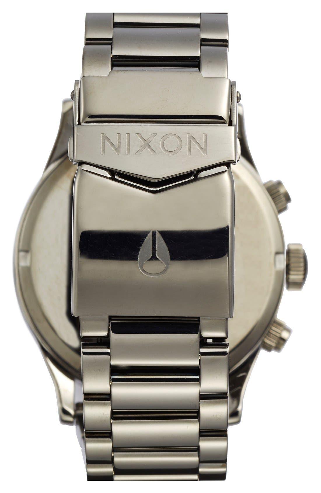 'The Sentry' Chronograph Bracelet Watch, 42mm,                             Alternate thumbnail 29, color,