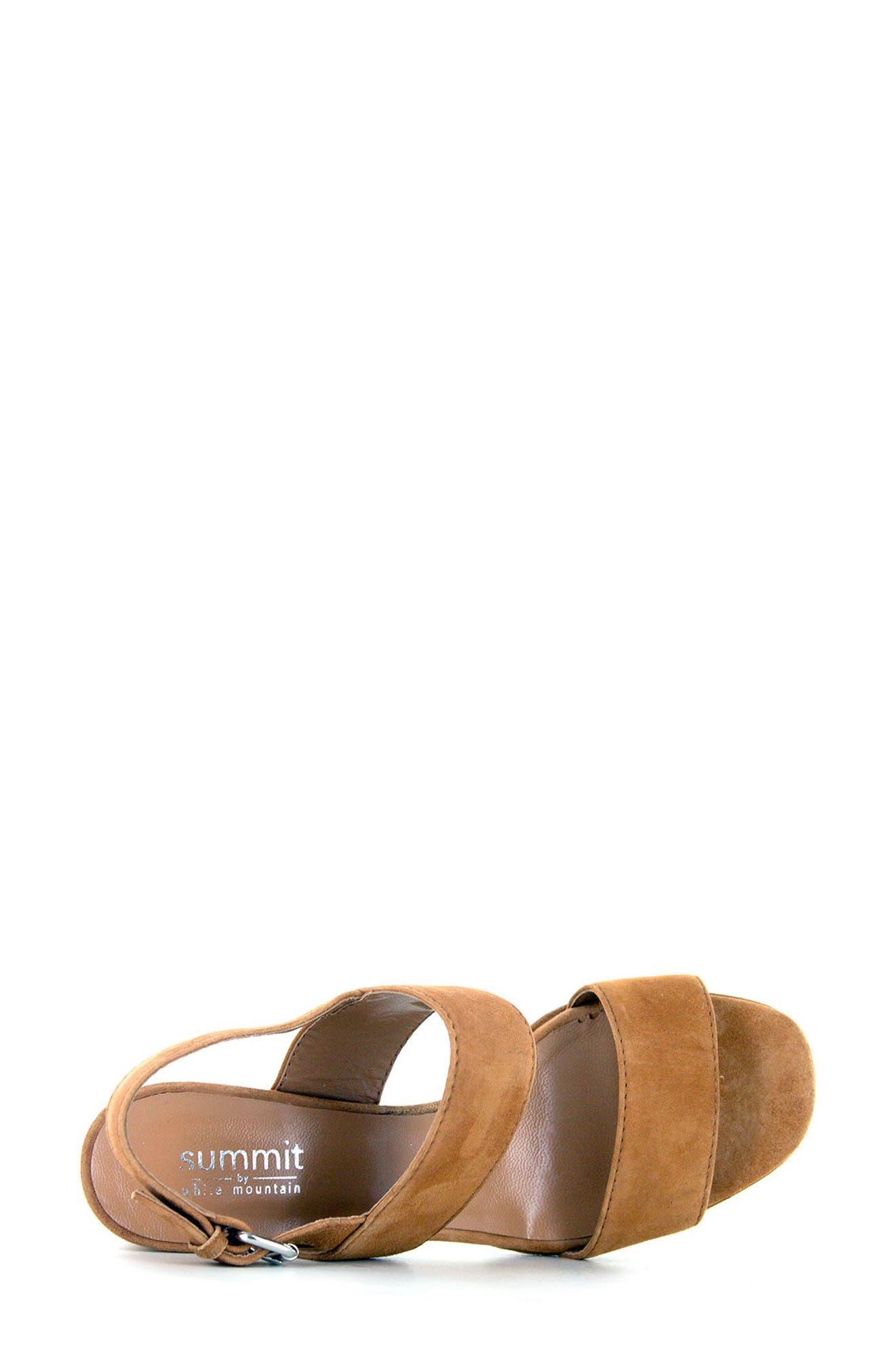 Summit Emilia Block Heel Sandal,                             Alternate thumbnail 9, color,