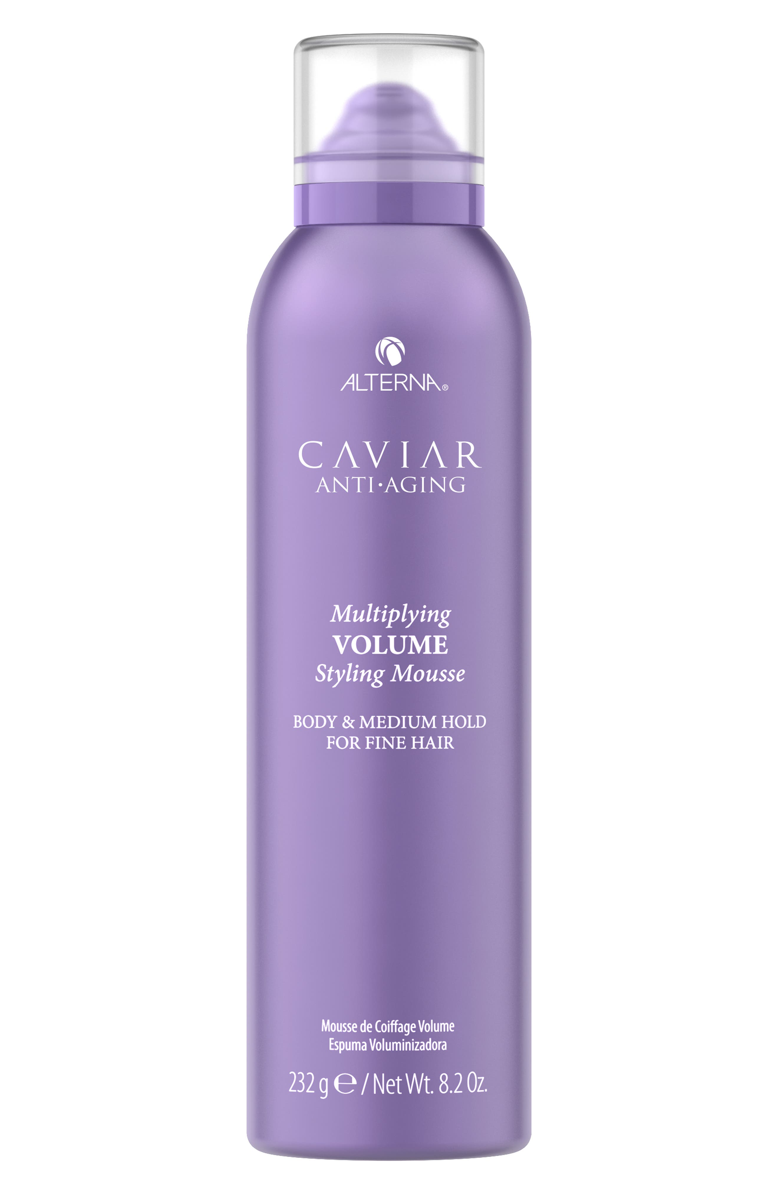 Caviar Anti-Aging Multiplying Volume Styling Mousse,                             Main thumbnail 1, color,                             000